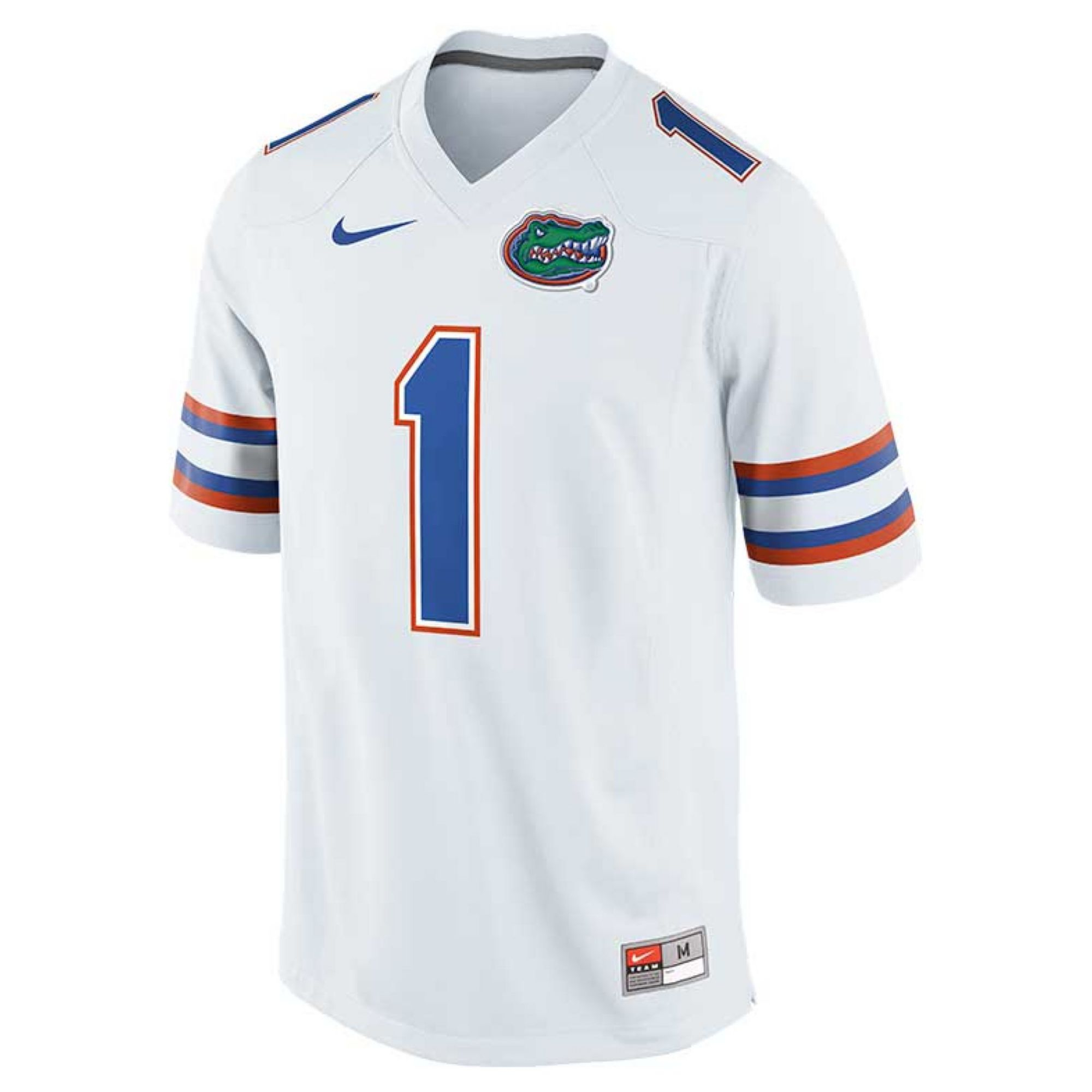 Nike Men S Florida Gators Replica Football Game Jersey In White For Men Lyst