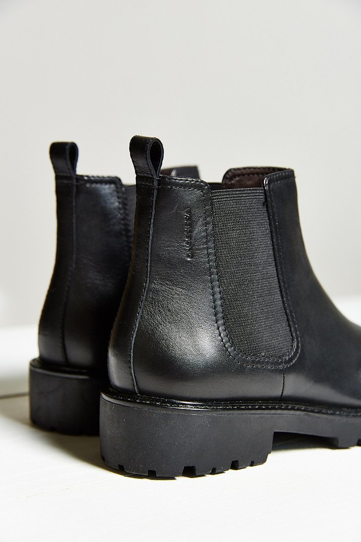 vagabond kenova chelsea boot in black lyst. Black Bedroom Furniture Sets. Home Design Ideas