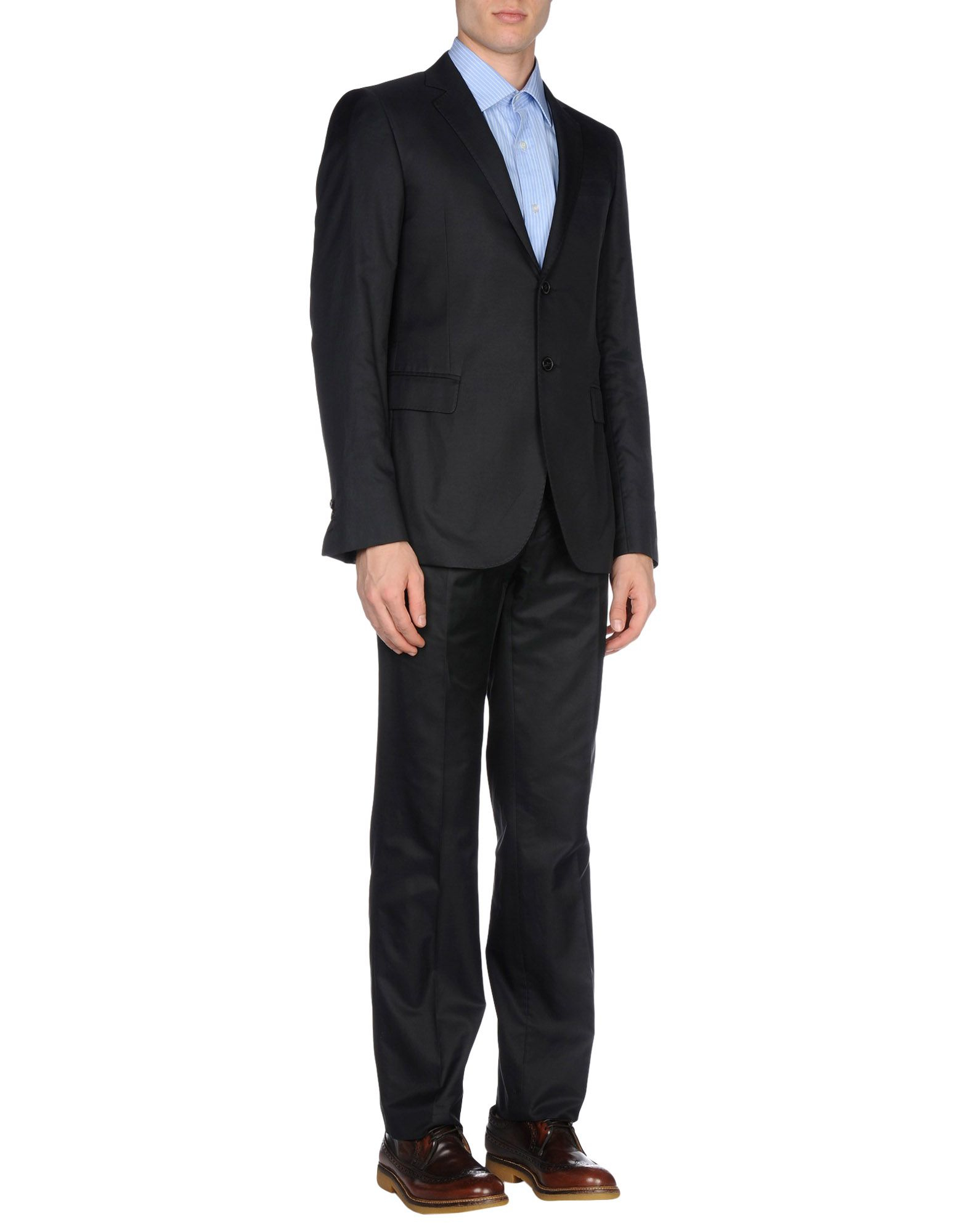 Costume National Suit In Black For Men Lyst