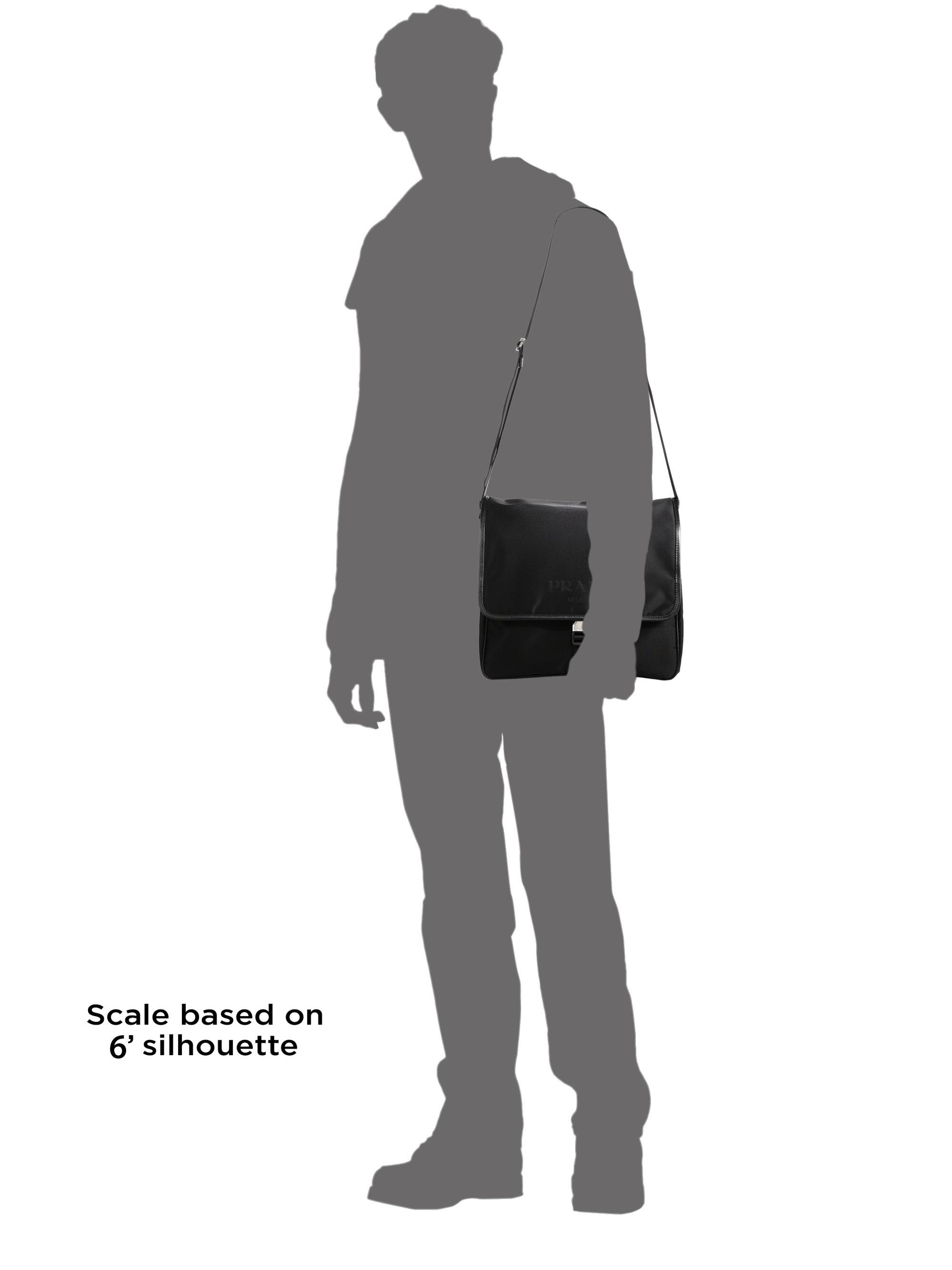 Prada Tracolla Con Pattina Bag in Black for Men | Lyst