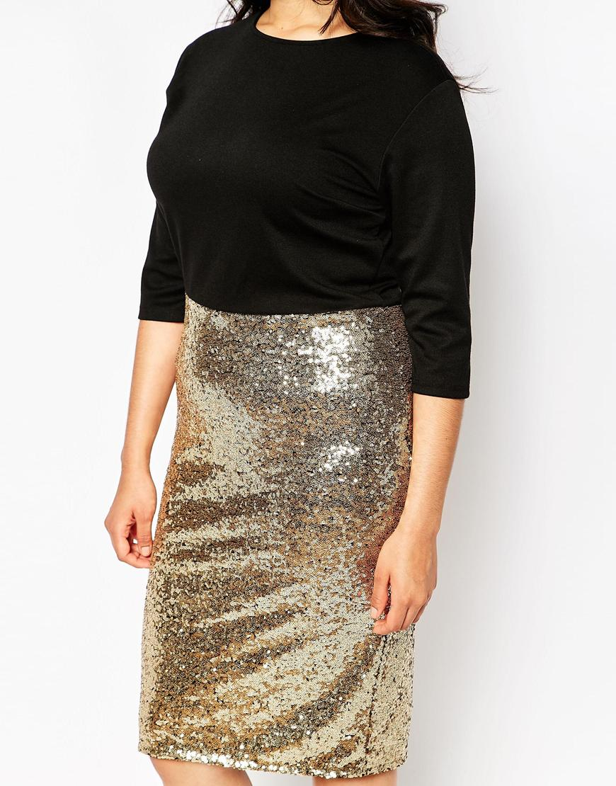 Sequin Skirt Plus Size - Dress Ala