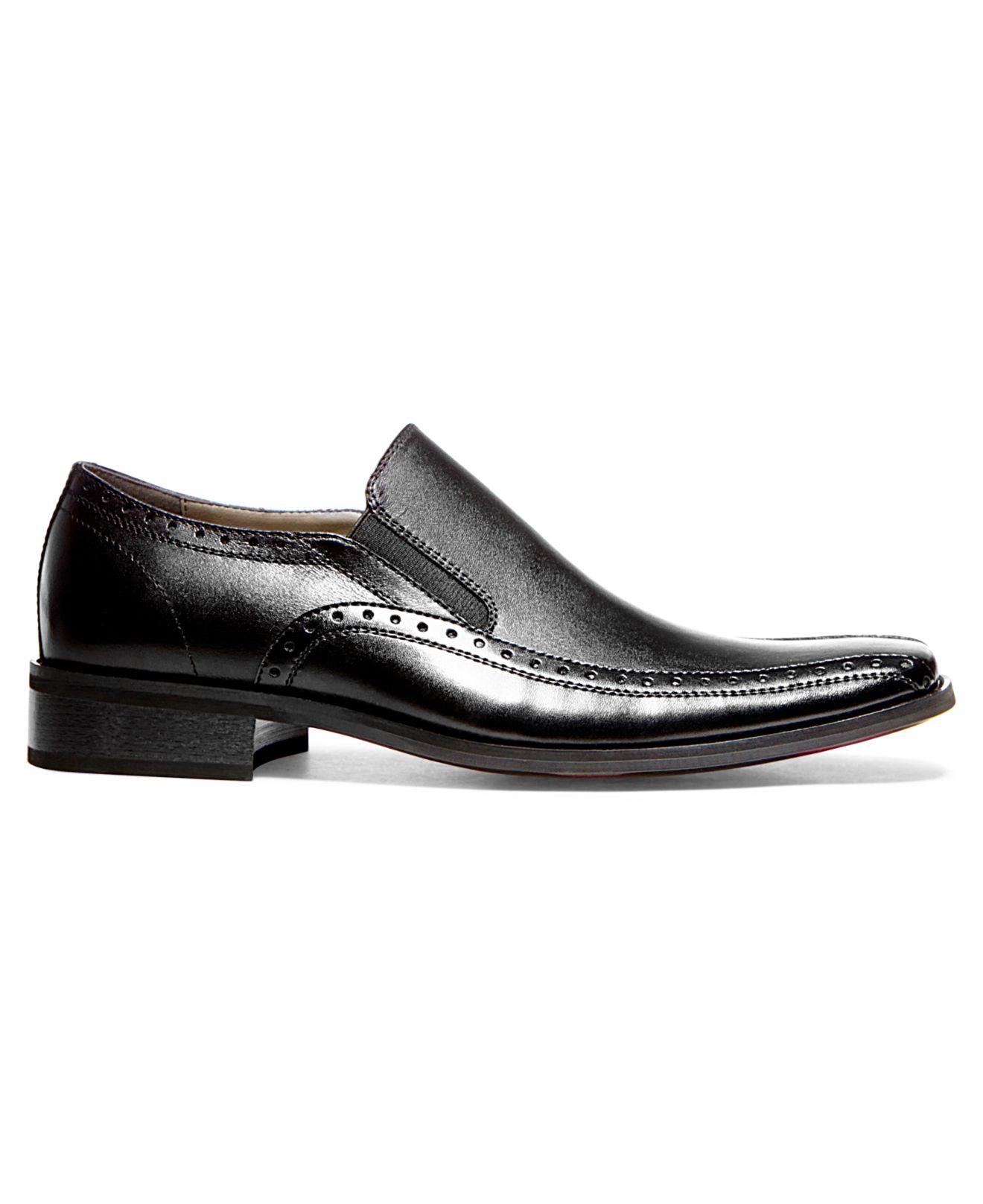 74d53f895b8 ... lyst steve madden kaptive slip on dress shoes in black for men ...