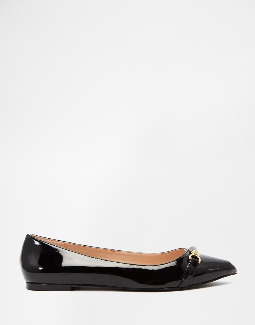 Shoes Shoes Flat Black Carvela Point Lyst in Moore Geiger Geiger Kurt YxqXF