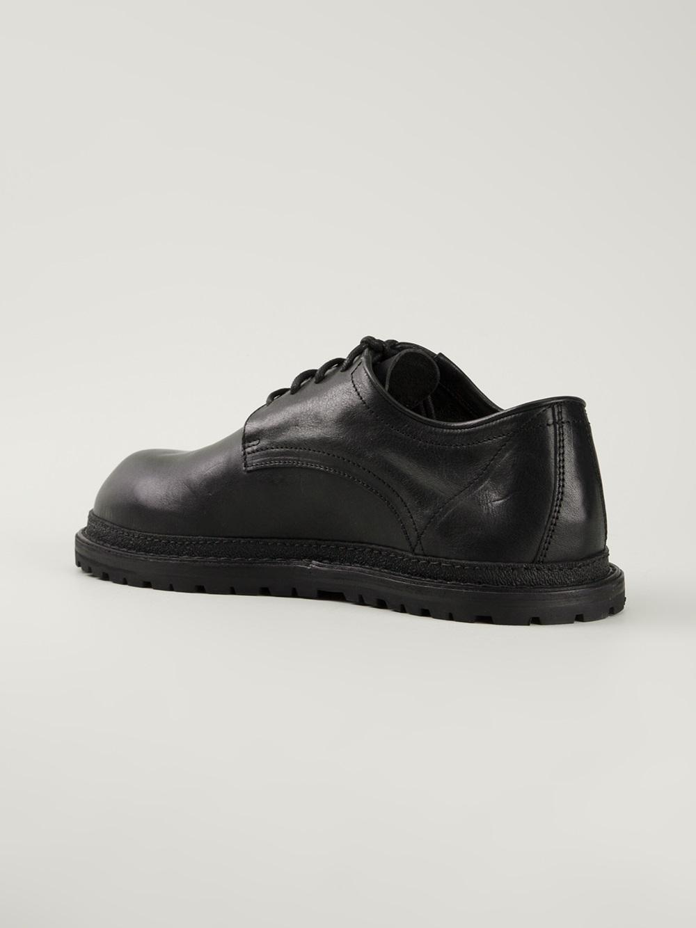 Ann Demeulemeester Black Leather Derbys erK6kUBEy