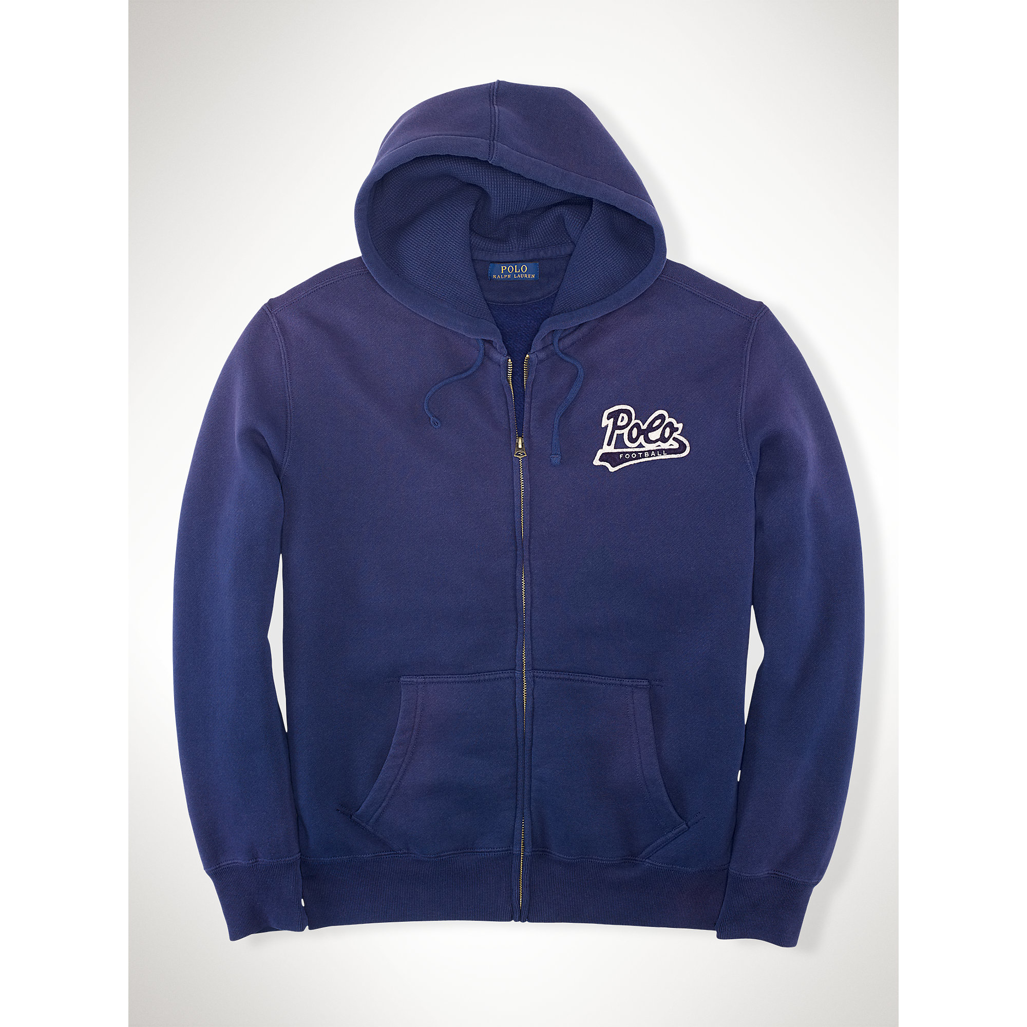 Pink pony Cotton-blend-fleece Hoodie in Blue for Men | Lyst