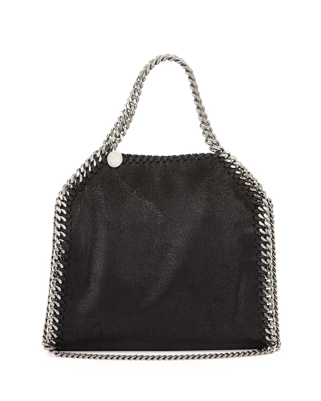Lyst Stella Mccartney Mini Falabella Crossbody Bag In Black