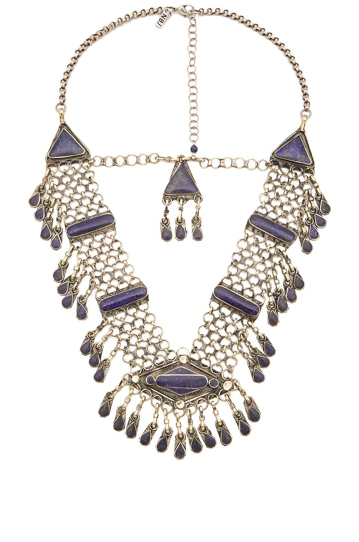 natalie b jewelry haya necklace in metallic lyst
