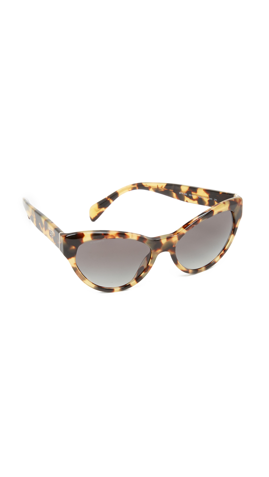 a6409f49738 best price prada cat eye tortoiseshell sunglasses 79dca e4e77