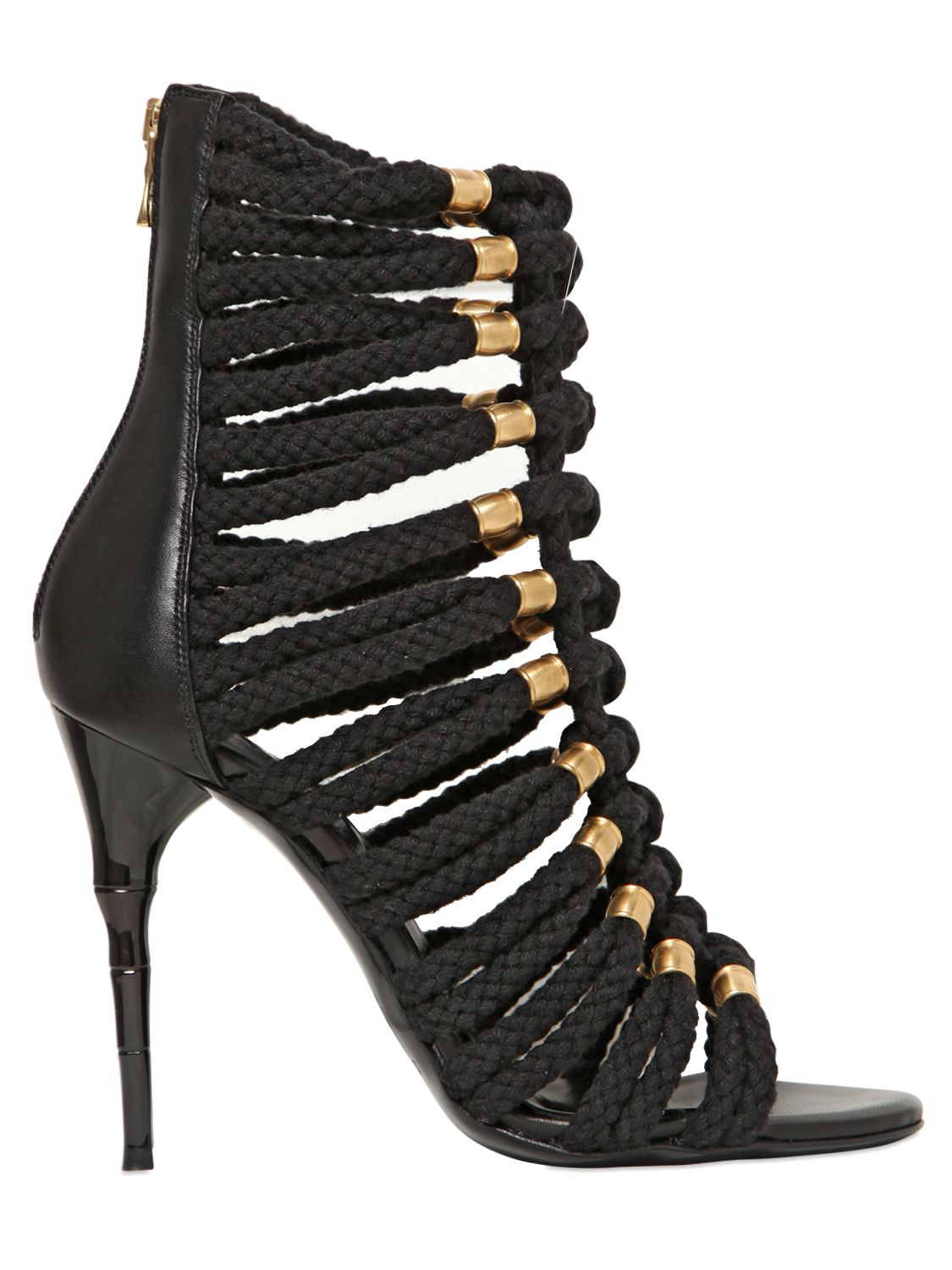 Black sandals Balmain Buy Cheap Choice From China Cheap Price Online Cheap Online I29pYMCx