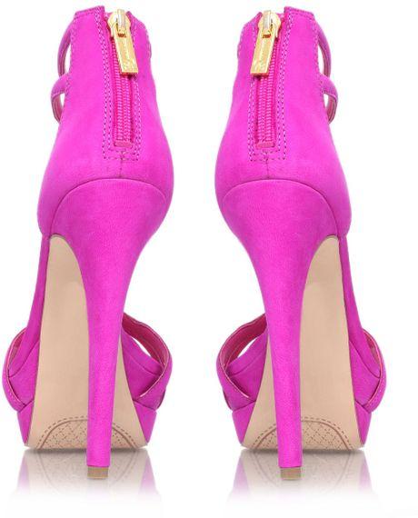 Jessica Simpson Salvati High Heel Sandals In Purple Lyst