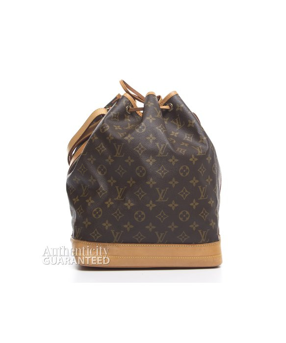 Louis Vuitton Trash Bags Gallery Louis Vuitton Pre Owned Monogram Canvas Noe Bag In Brown Lyst