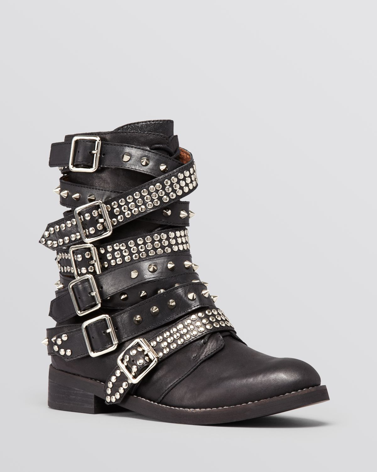 Lyst Jeffrey Campbell Short Boots Cruzados Studded In