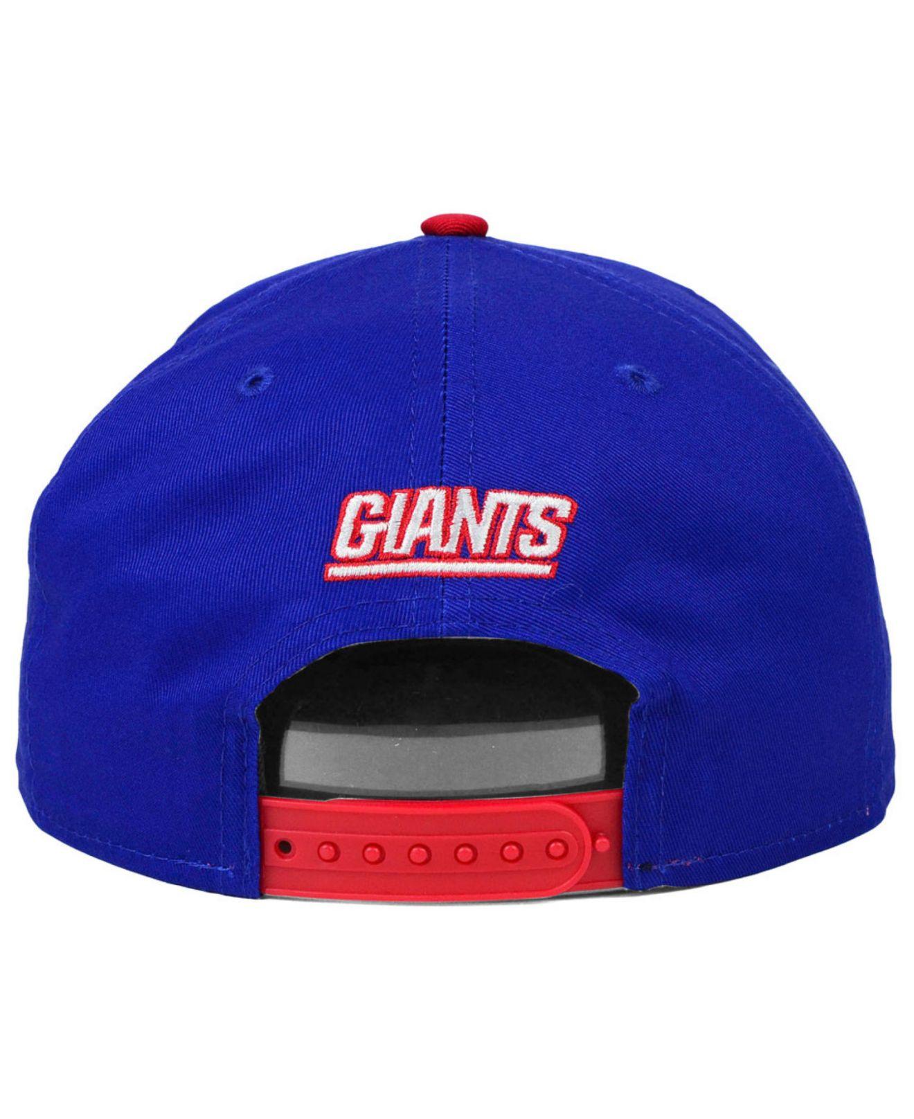 6babd61c157 Lyst - KTZ New York Giants 2015 Nfl Draft 9fifty Snapback Cap in ...