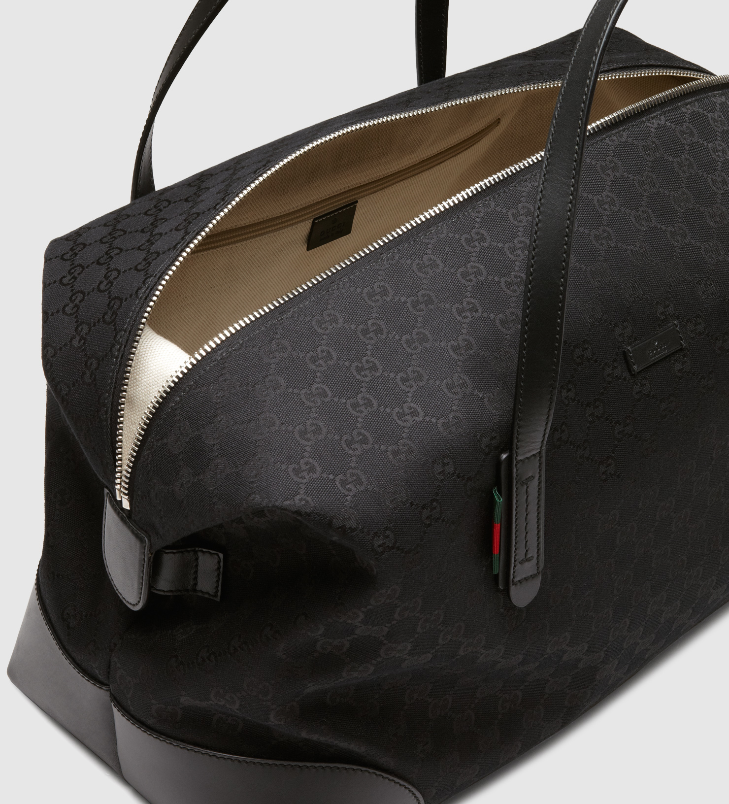 Lyst - Gucci Original Gg Canvas Carry-on Duffle Bag in Black for Men 123fd852fef14