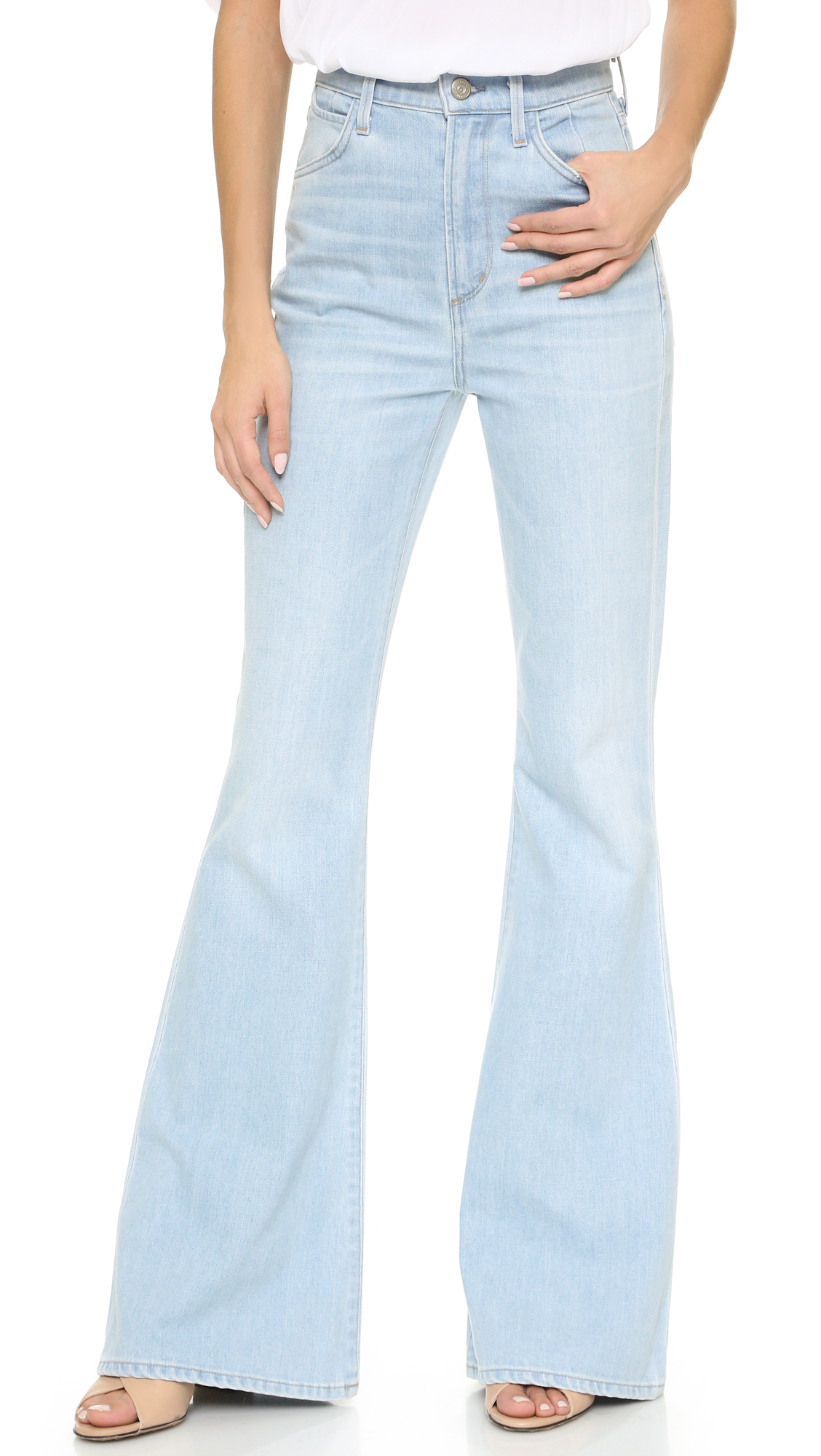 flared high waisted jeans - Blue Citizens Of Humanity 100% Guaranteed Cheap Price Prices Online Clearance Footaction Huge Surprise Cheap Price 2018 Cheap Sale O43jIRJm