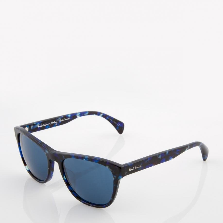 43df080a0d6 Lyst - Paul Smith Confetti Blue  hoban  Sunglasses in Blue for Men