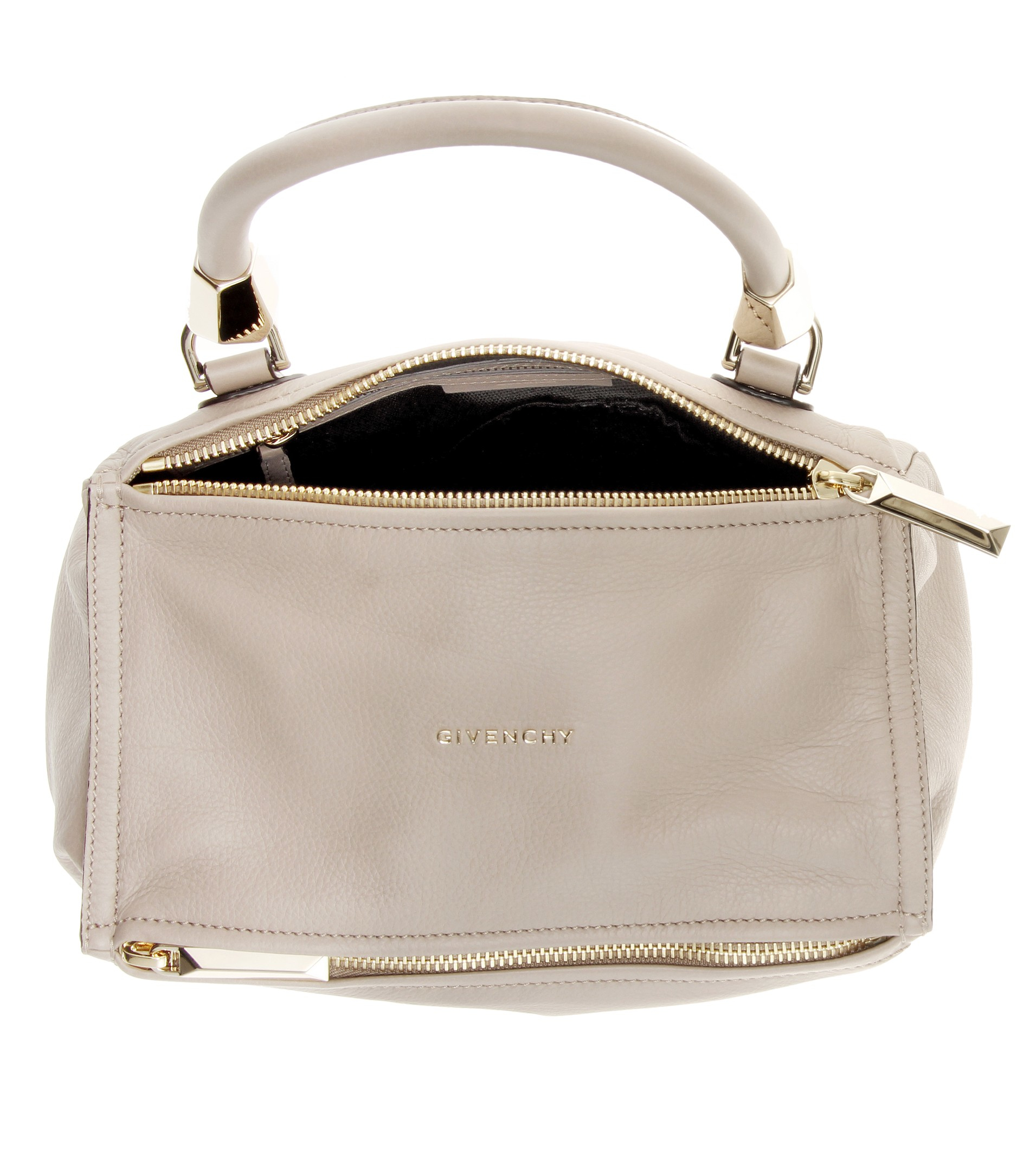 886c7dc64923 givenchy handbags online - Givenchy Pandora Small Leather Shoulder Bag in  Gray (Linen)