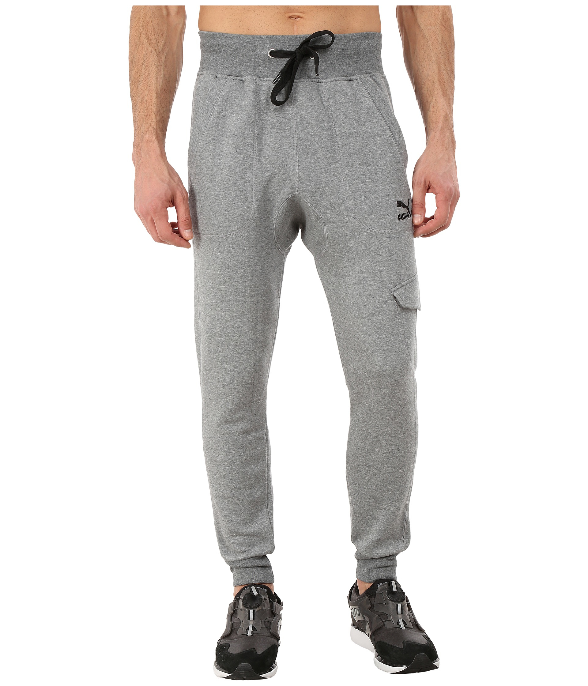 b785a68be825 Lyst - PUMA Cargo Sweat Pants in Gray for Men