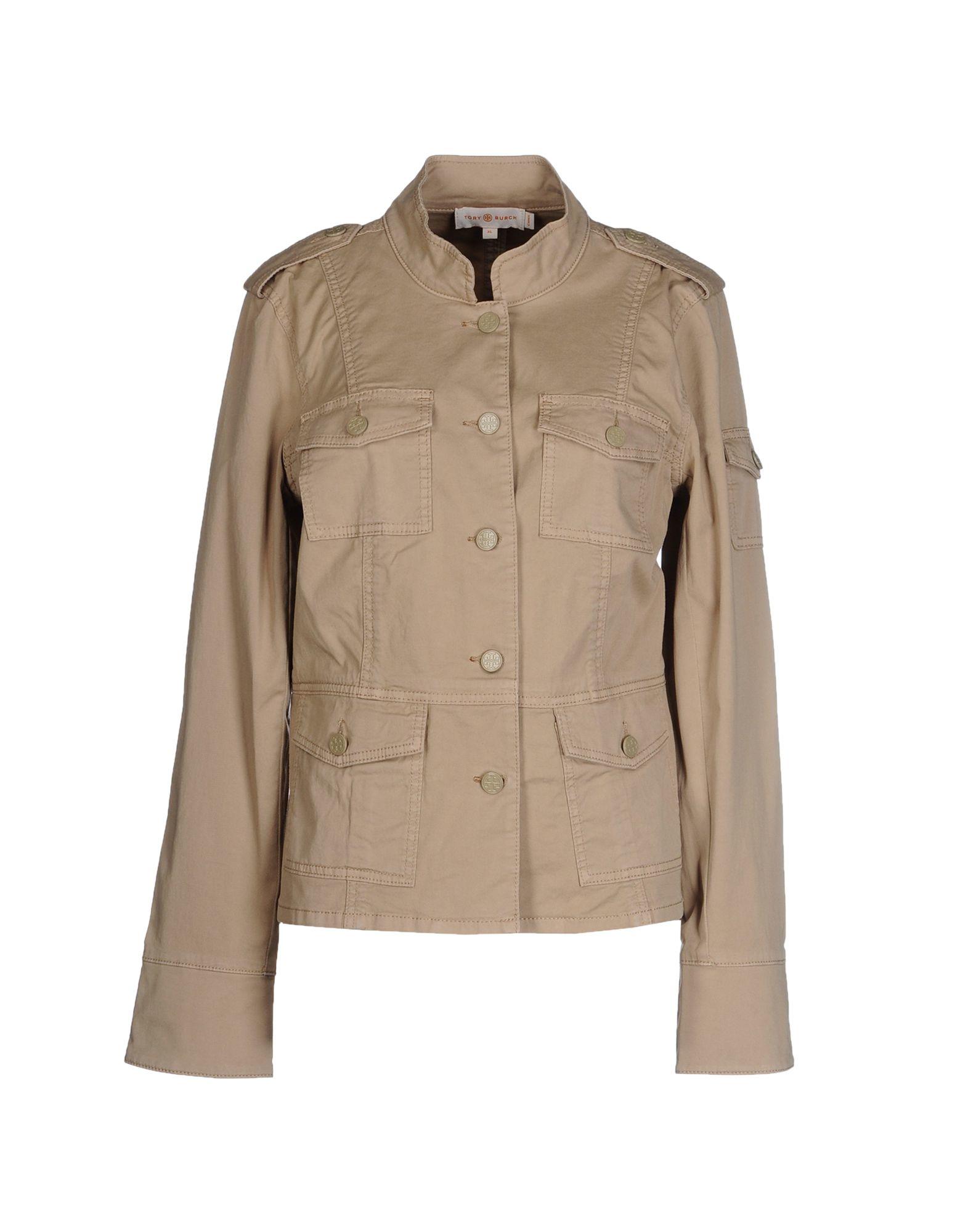 cbd2079c1 Lyst - Tory Burch Jacket in Brown