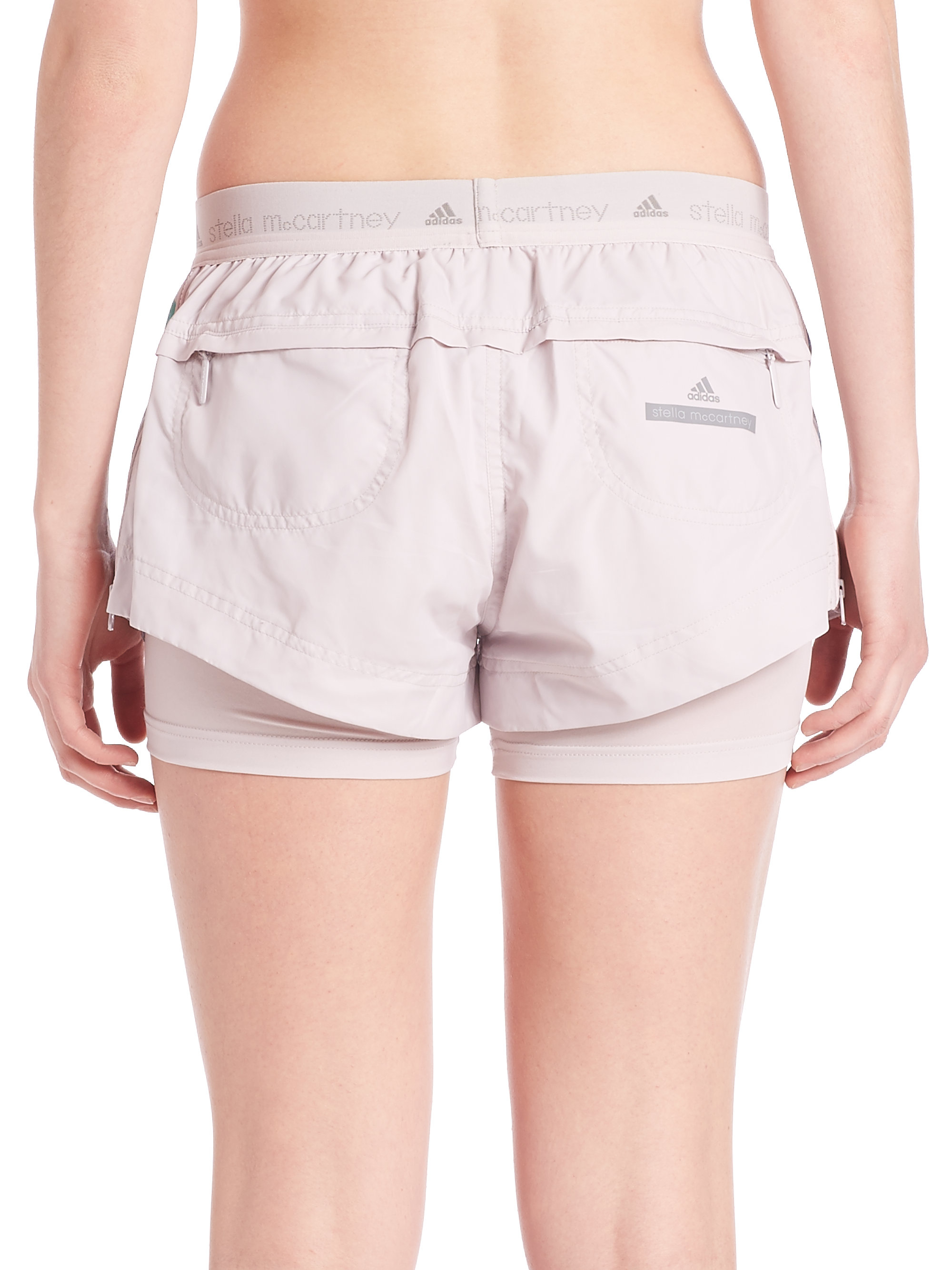 Adidas by Stella McCartney Run Blossom Lyst Shorts