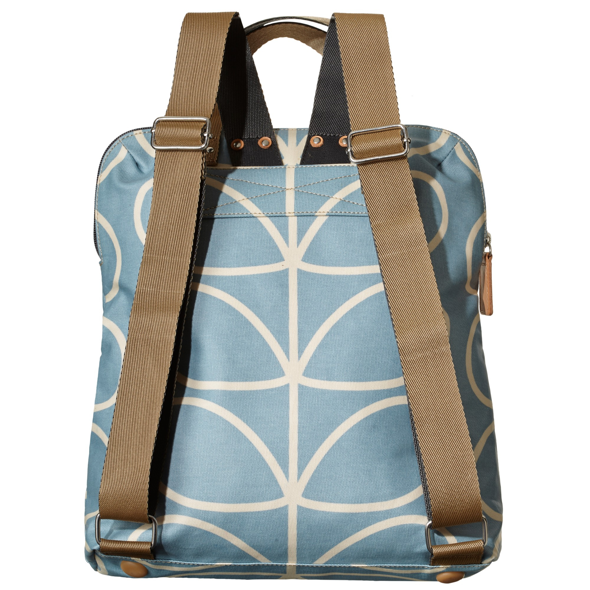 Orla Kiely Giant Linear Stem Print Backpack Tote in Blue - Lyst eed49bc2abc97
