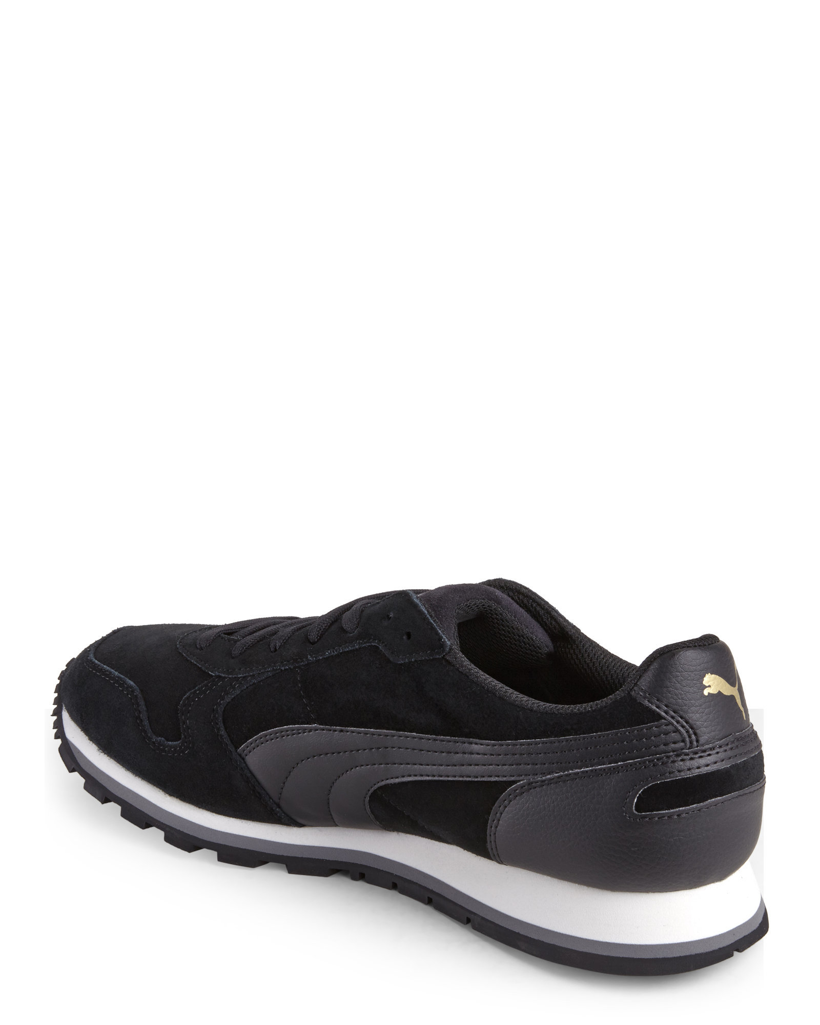 Puma Black Jogger Sneakers cheap cost FB0QxlGw