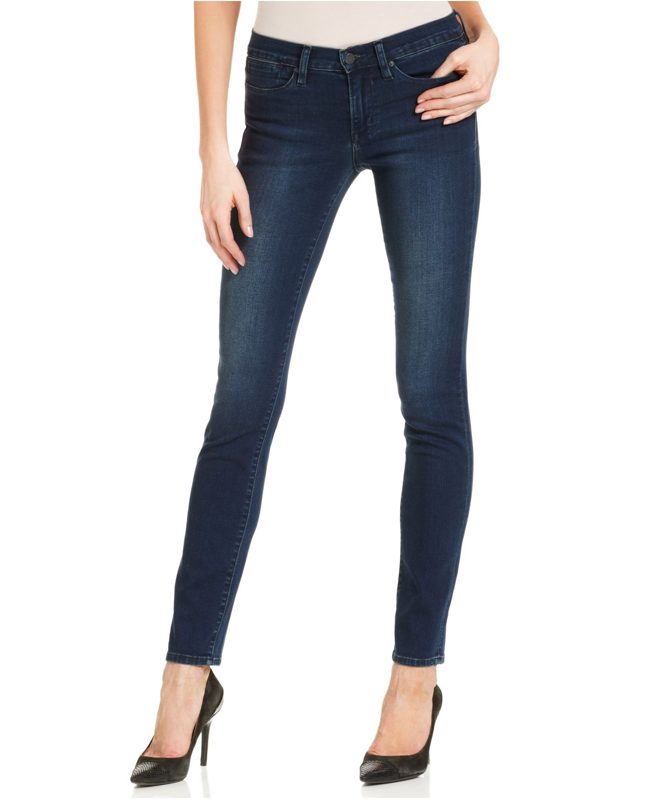 Calvin klein jeans skinny jeans green tomatoes wash