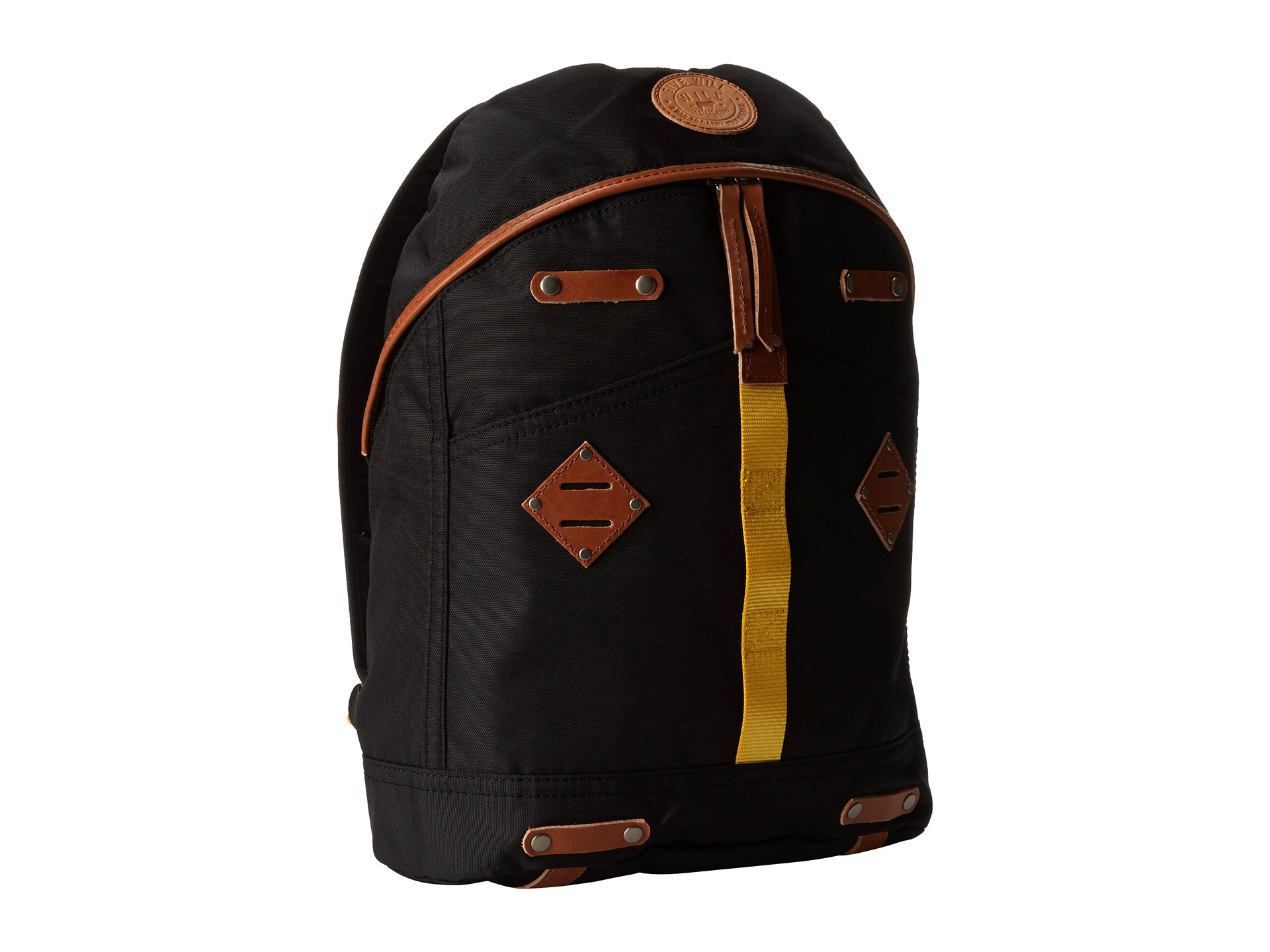 Lyst - Will Leather Goods Give Will Large Backpack in Black for Men 80759fd07f5d