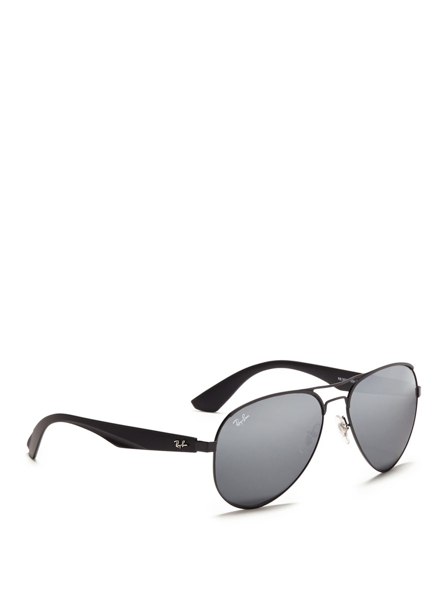 ray ban aviator titanium sunglasses