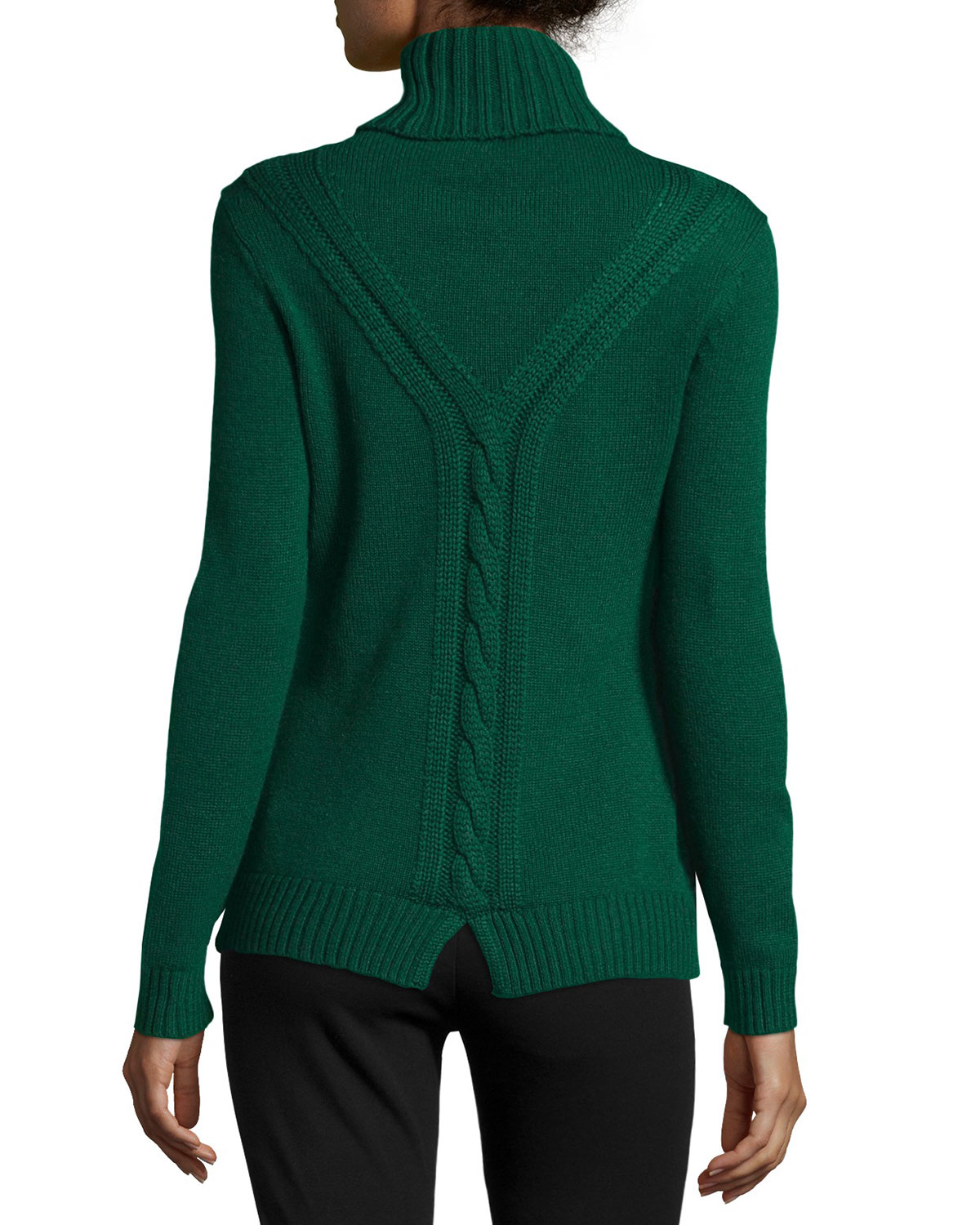 Lafayette 148 new york Long-sleeve Turtleneck Cashmere Sweater in ...