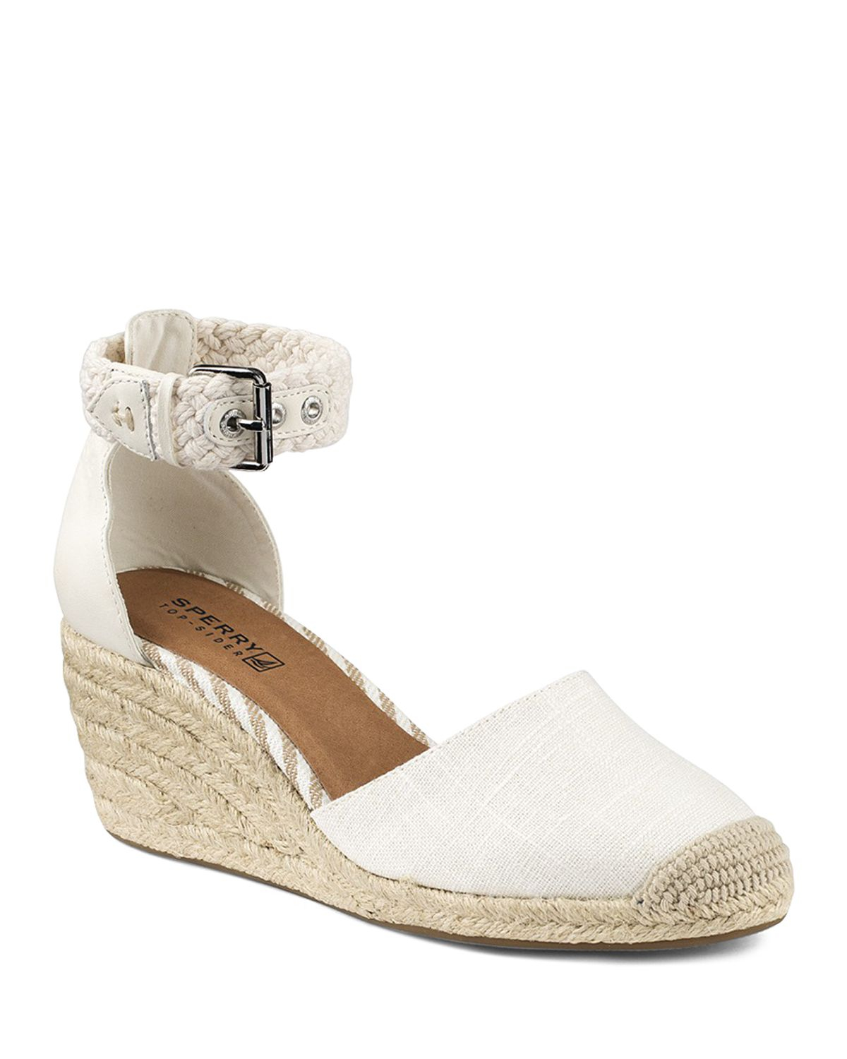Gallery - Sperry Top-sider Espadrille Wedge Sandals - Valencia Closed Toe In