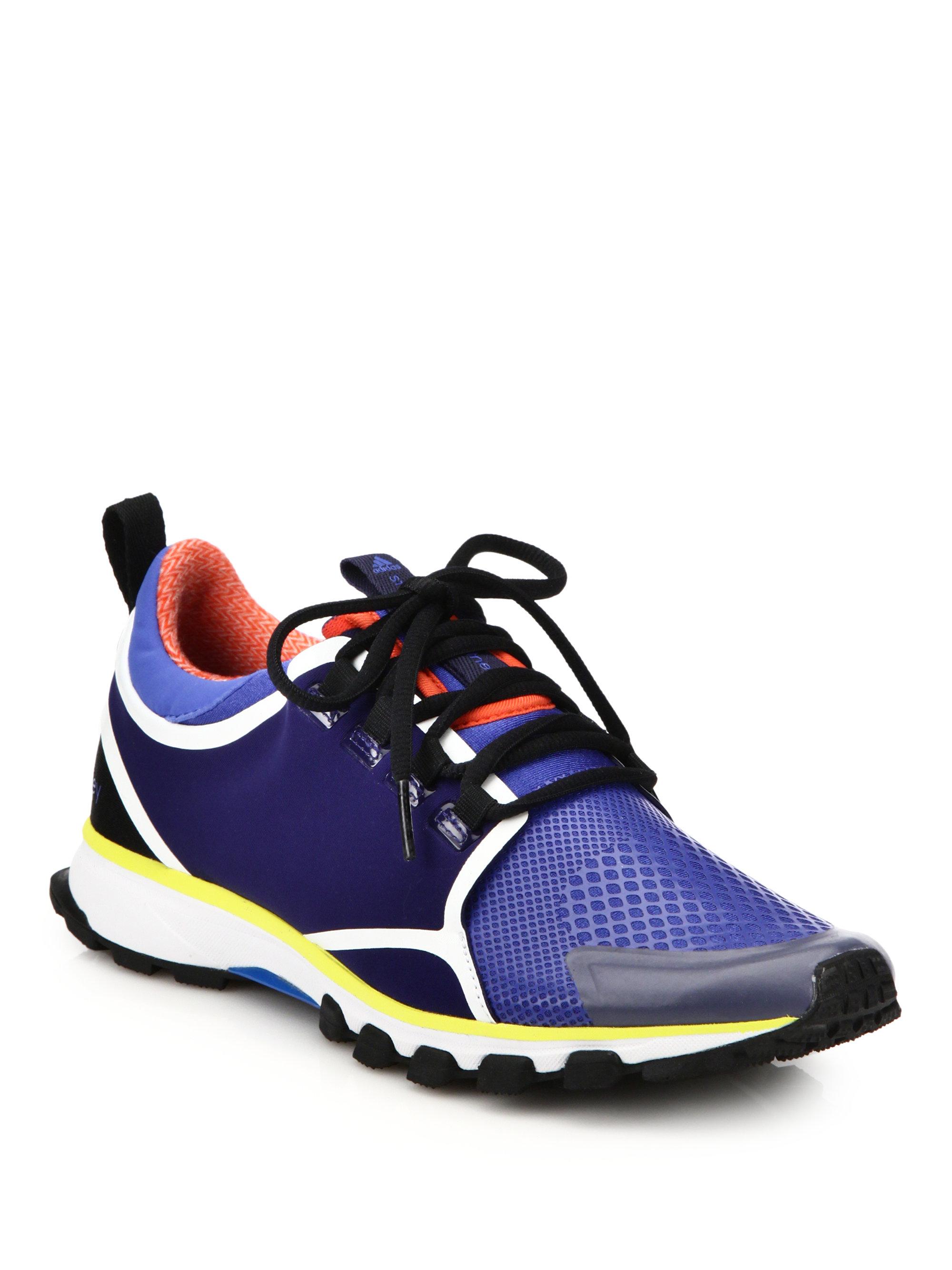 Lyst - adidas By Stella McCartney Adizero Xt Sneakers in Blue 3f484133a