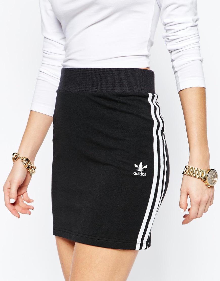 Adidas originals Originals Adicolour Mini Bodycon Skirt With 3 ...