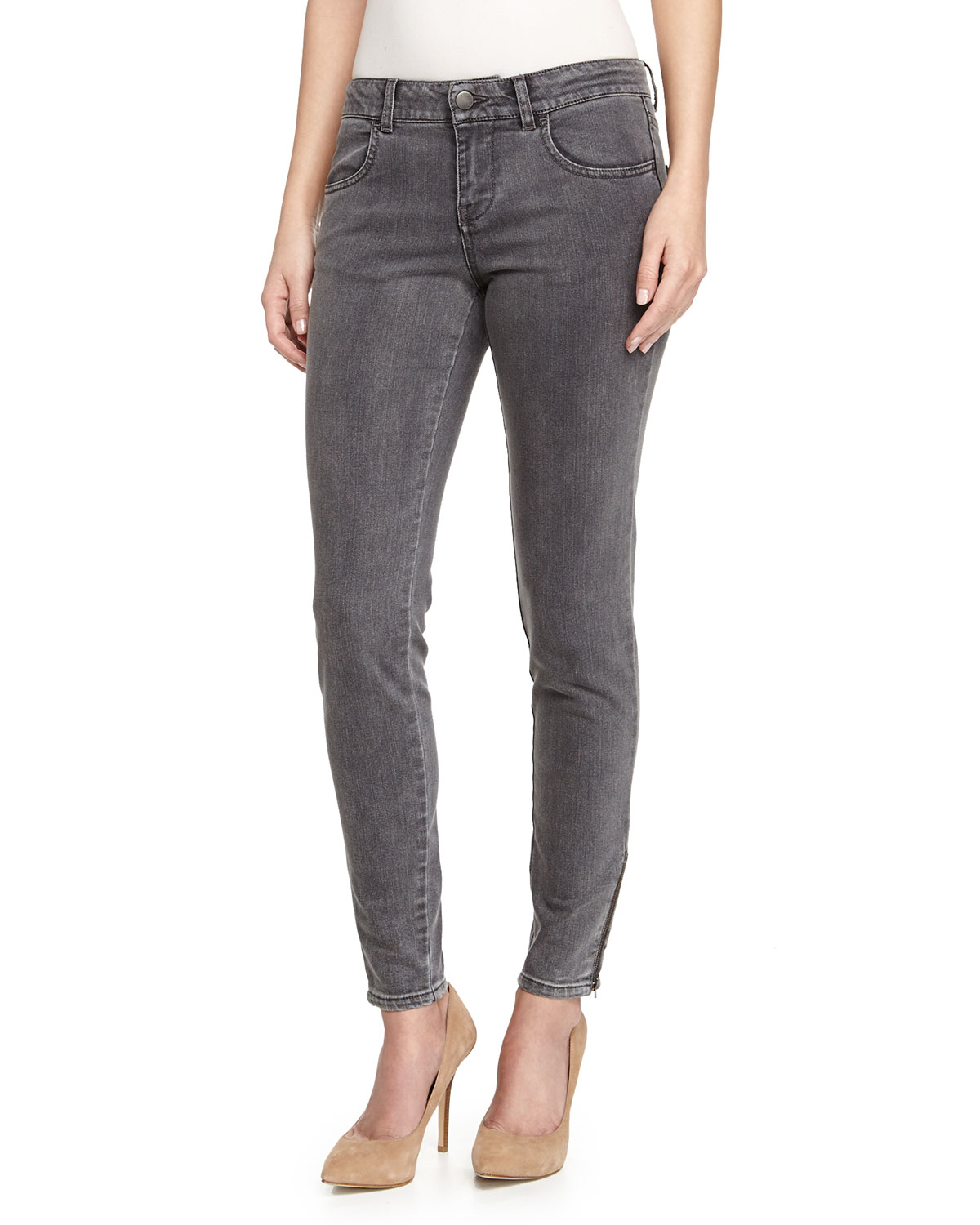 slim-fit jeans - Grey Stella McCartney 2018 New Cheap Price 2018 Newest For Sale Sale Pictures 100% Guaranteed Supply Online AFCdS