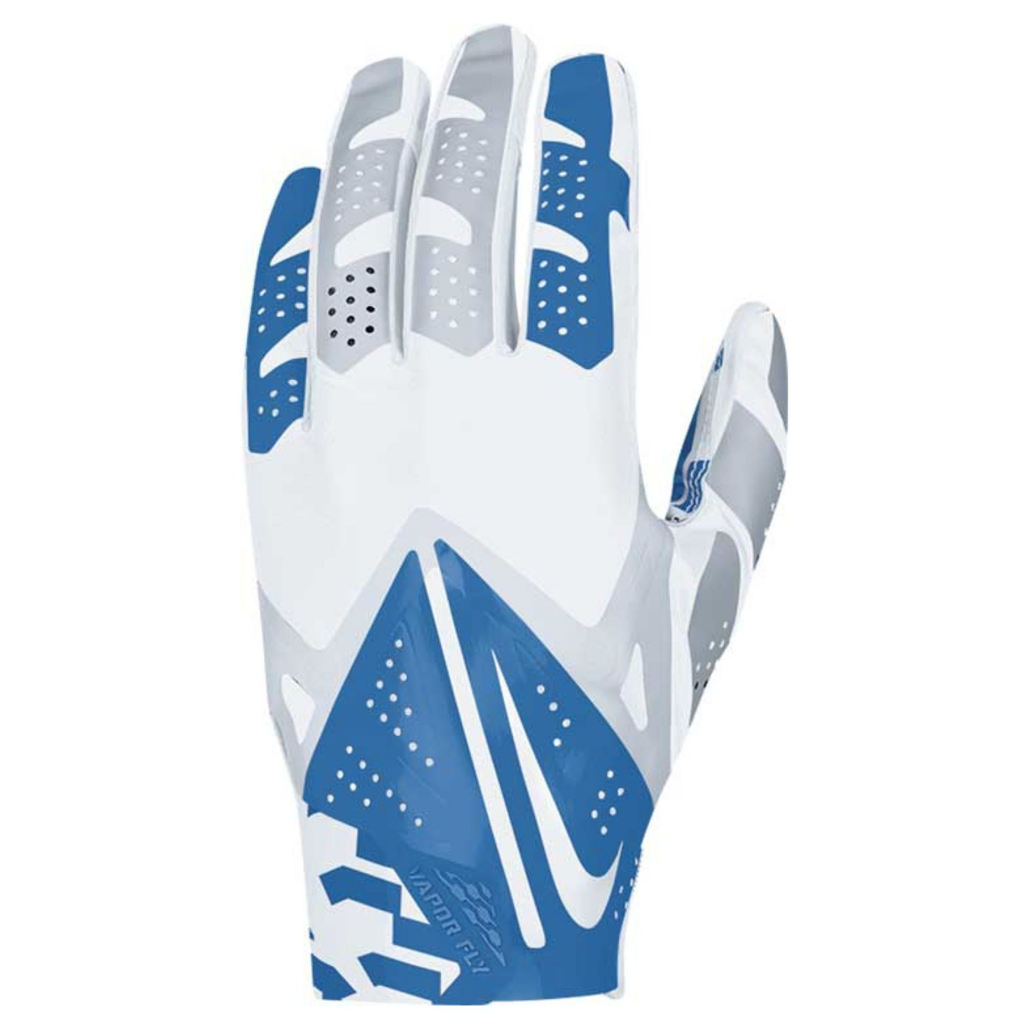 nike dallas cowboys vapor fly team authentic glove in blue