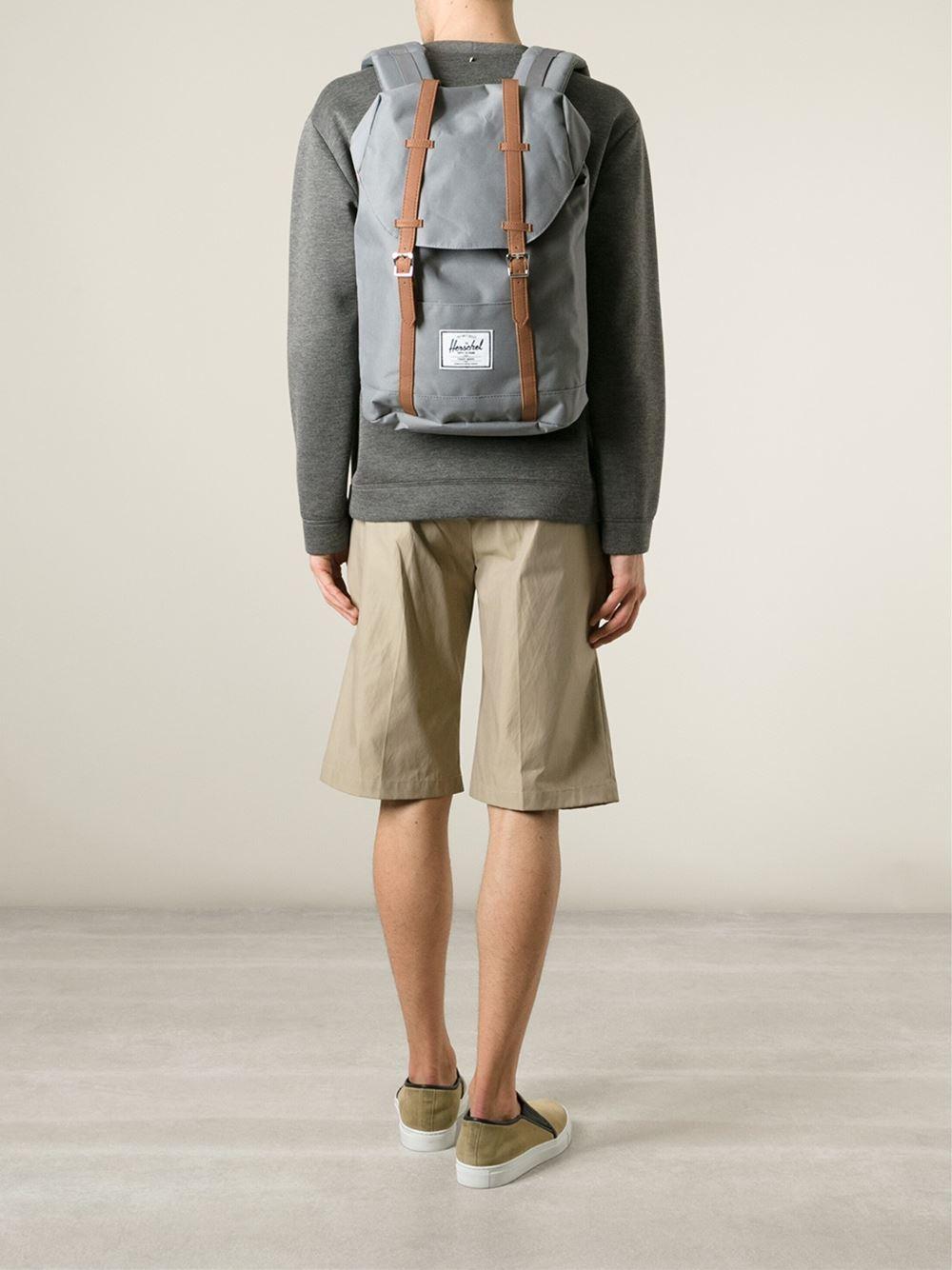 Lyst - Herschel Supply Co.  Retreat  Backpack in Gray for Men 6e58e2b8358d3