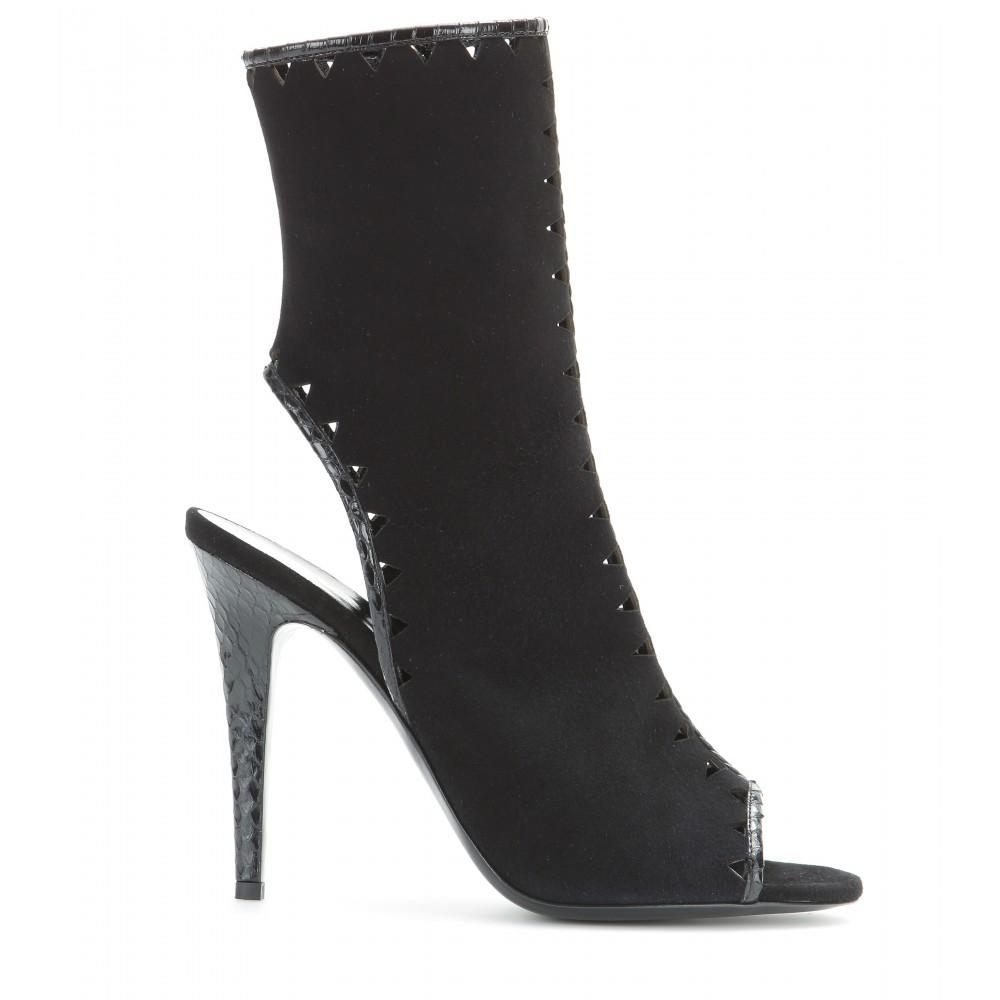 Tamara Mellon Snakeskin Pointed-Toe Boots original online OXK8hJT1oT