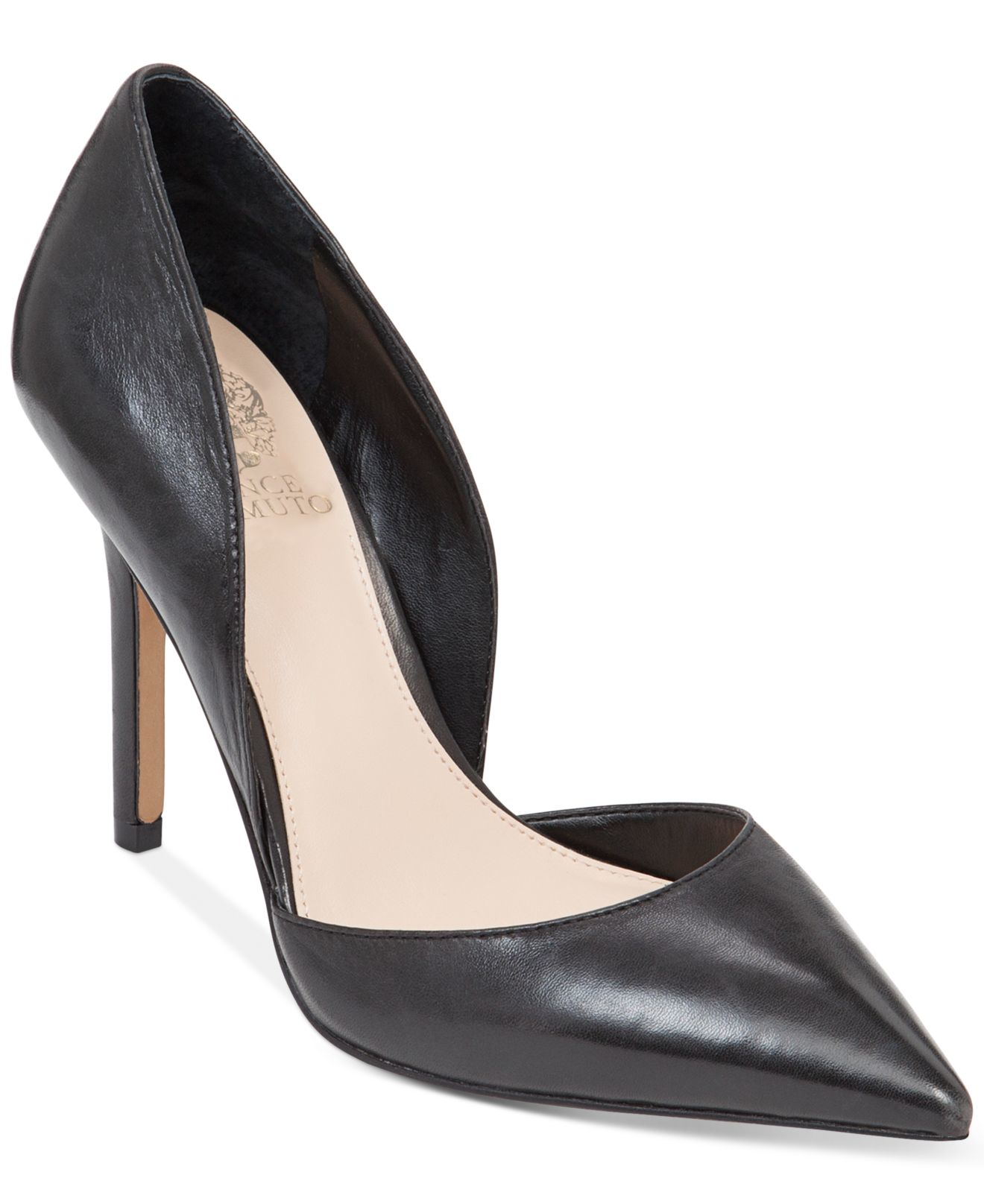Vince Camuto Rowin Two Piece Pumps In Black Lyst