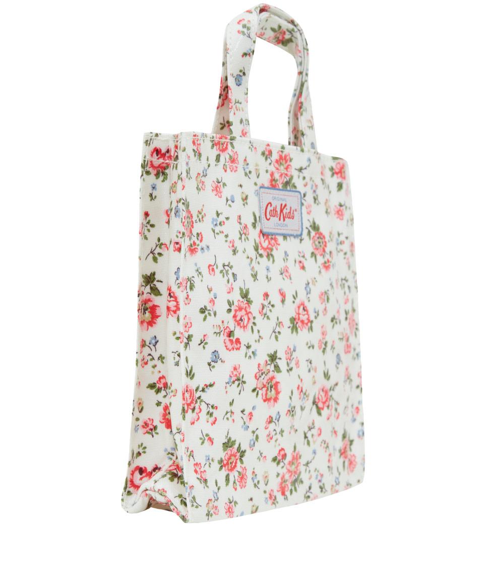 Lyst Cath Kidston Cream Bramley Spring Mini Shopper Bag