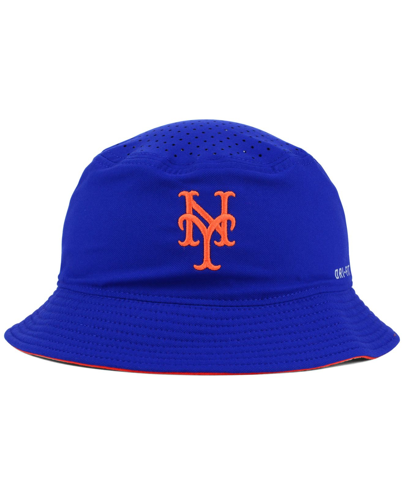 1cc62c18a03c3 ... get lyst nike new york mets vapor dri fit bucket hat in blue for men  68318