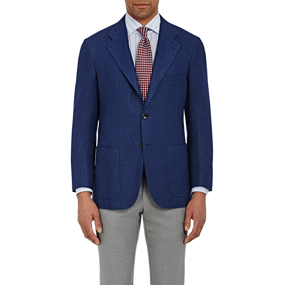 Free Shipping 2018 Newest buttoned jacket - Blue Kiton Fake Discount Very Cheap Cheap Clearance Discount With Mastercard nDssPVb