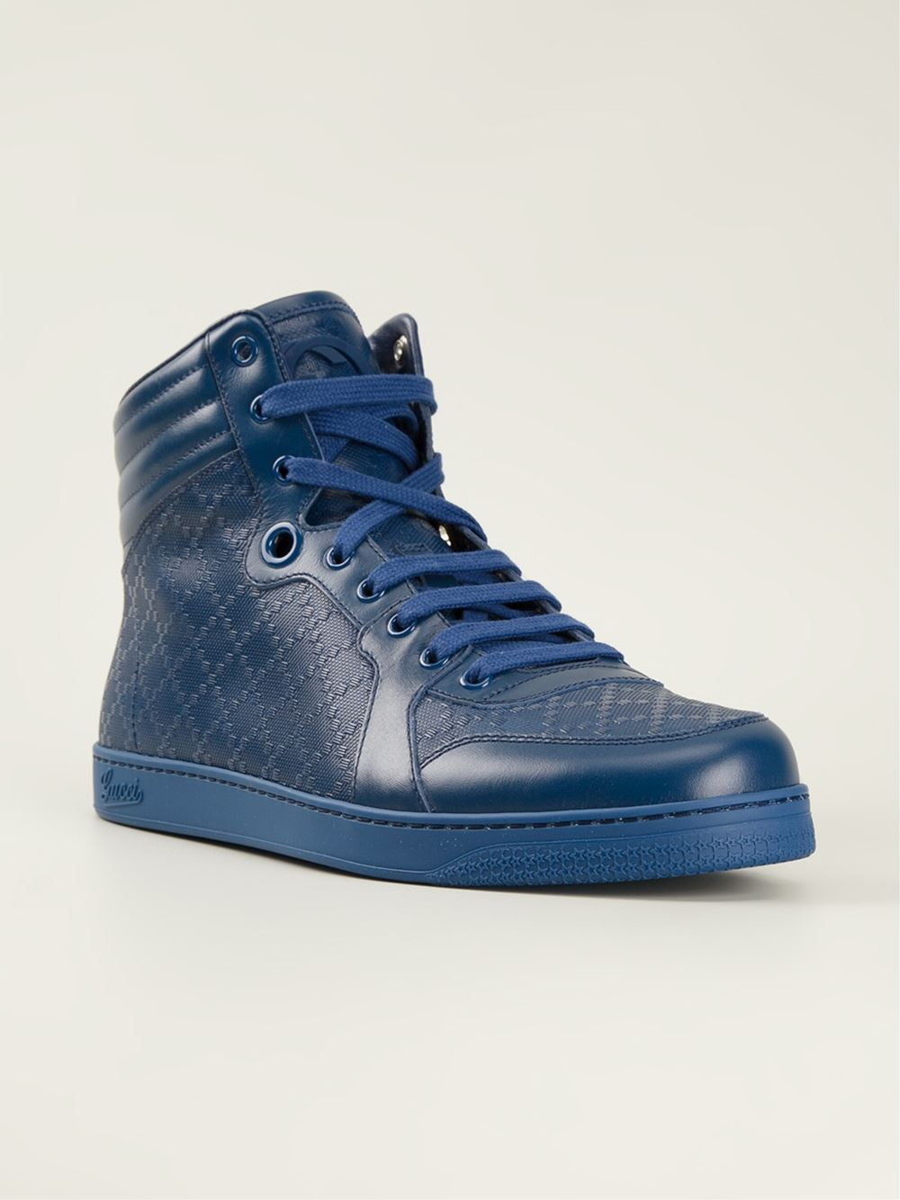 gucci blue trainers