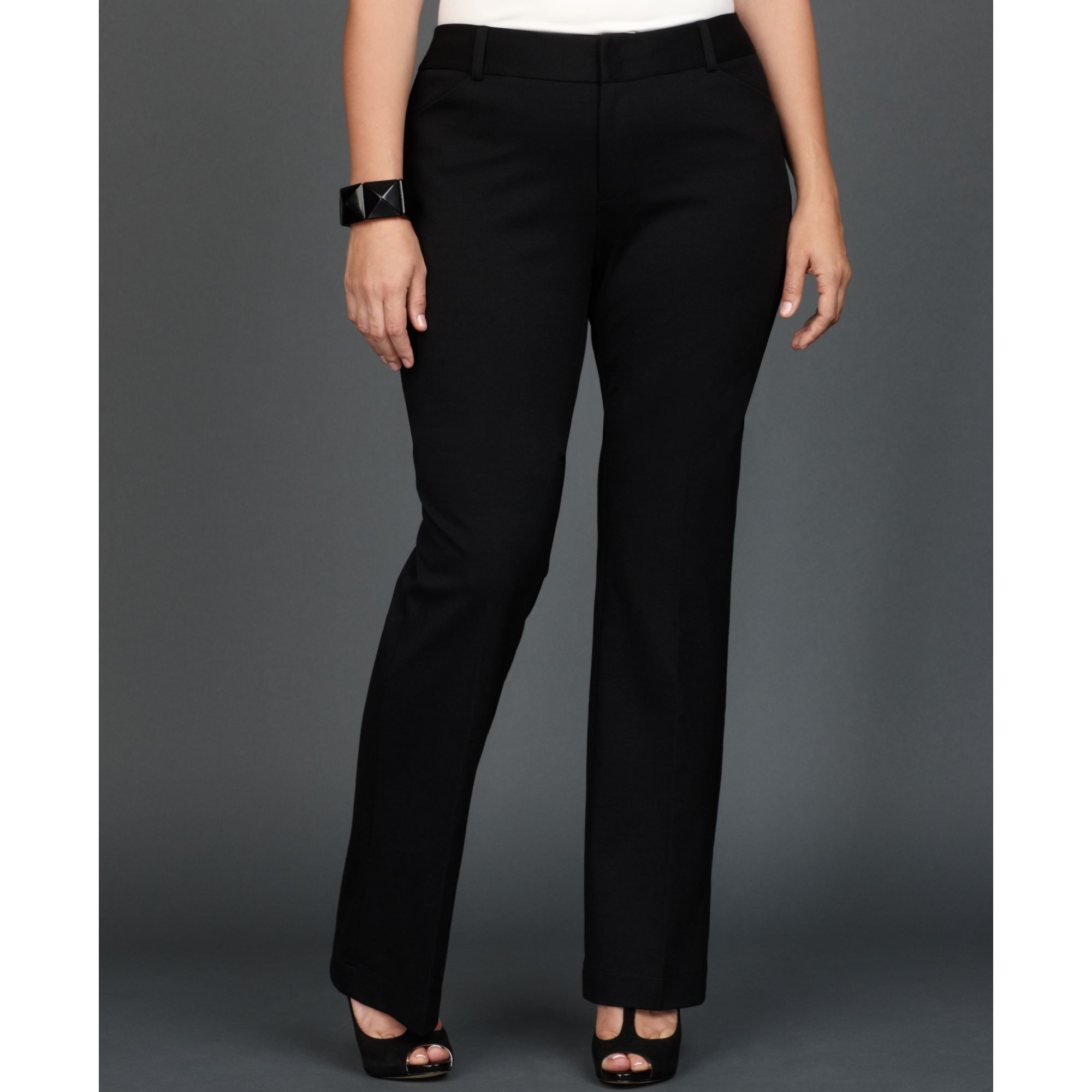 020d131c406 Lyst - INC International Concepts Plus Size Slimfit Bootcut Trousers ...