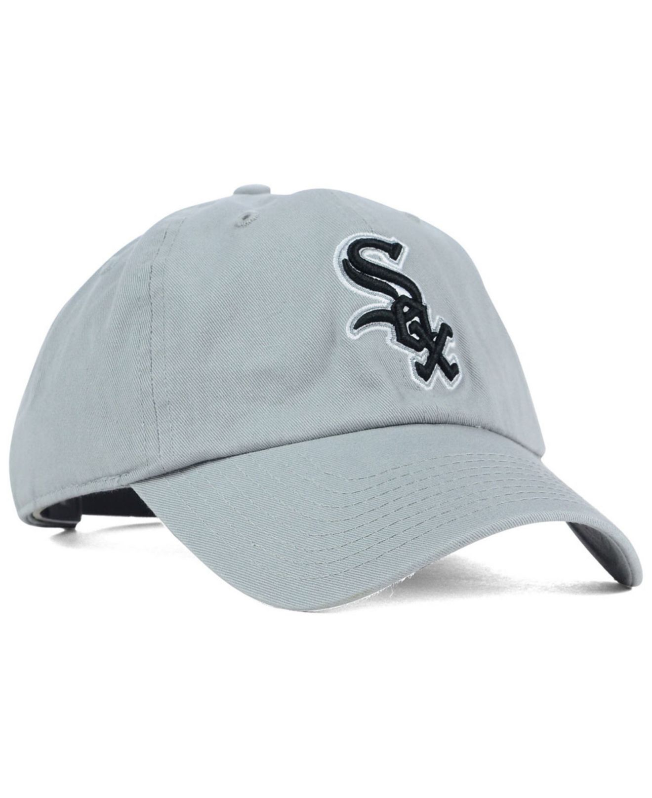 4e57f855c16c5 ... new zealand lyst 47 brand chicago white sox adjustable cap in gray for  men 5c837 e5651