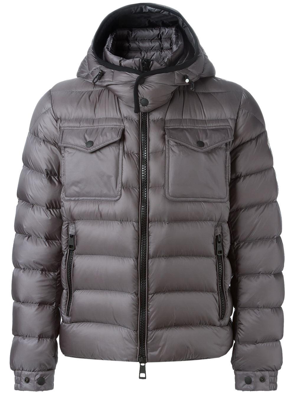 moncler grey edward jacket