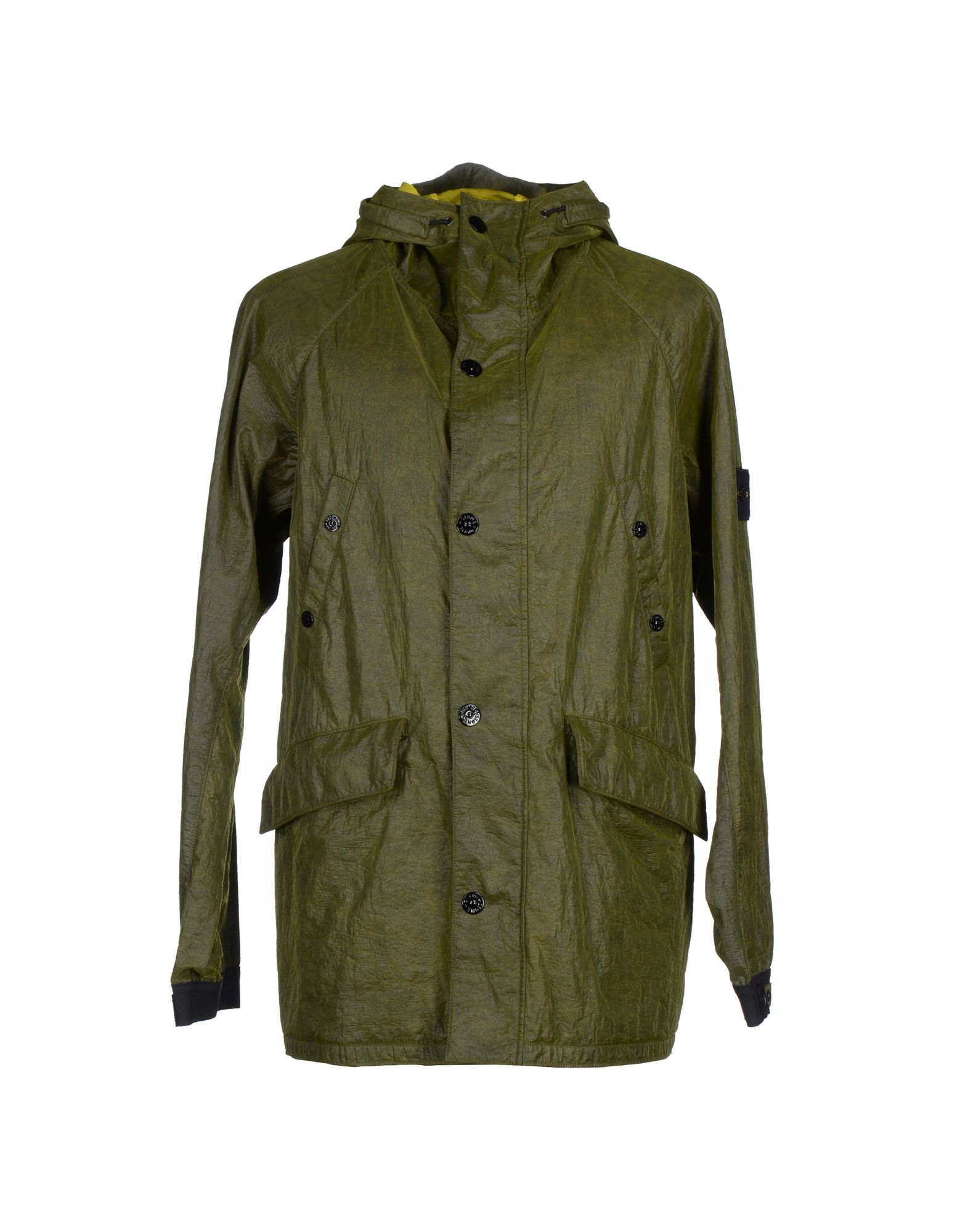Stone Island Soft Shell: Stone Island Jacket In Green For Men