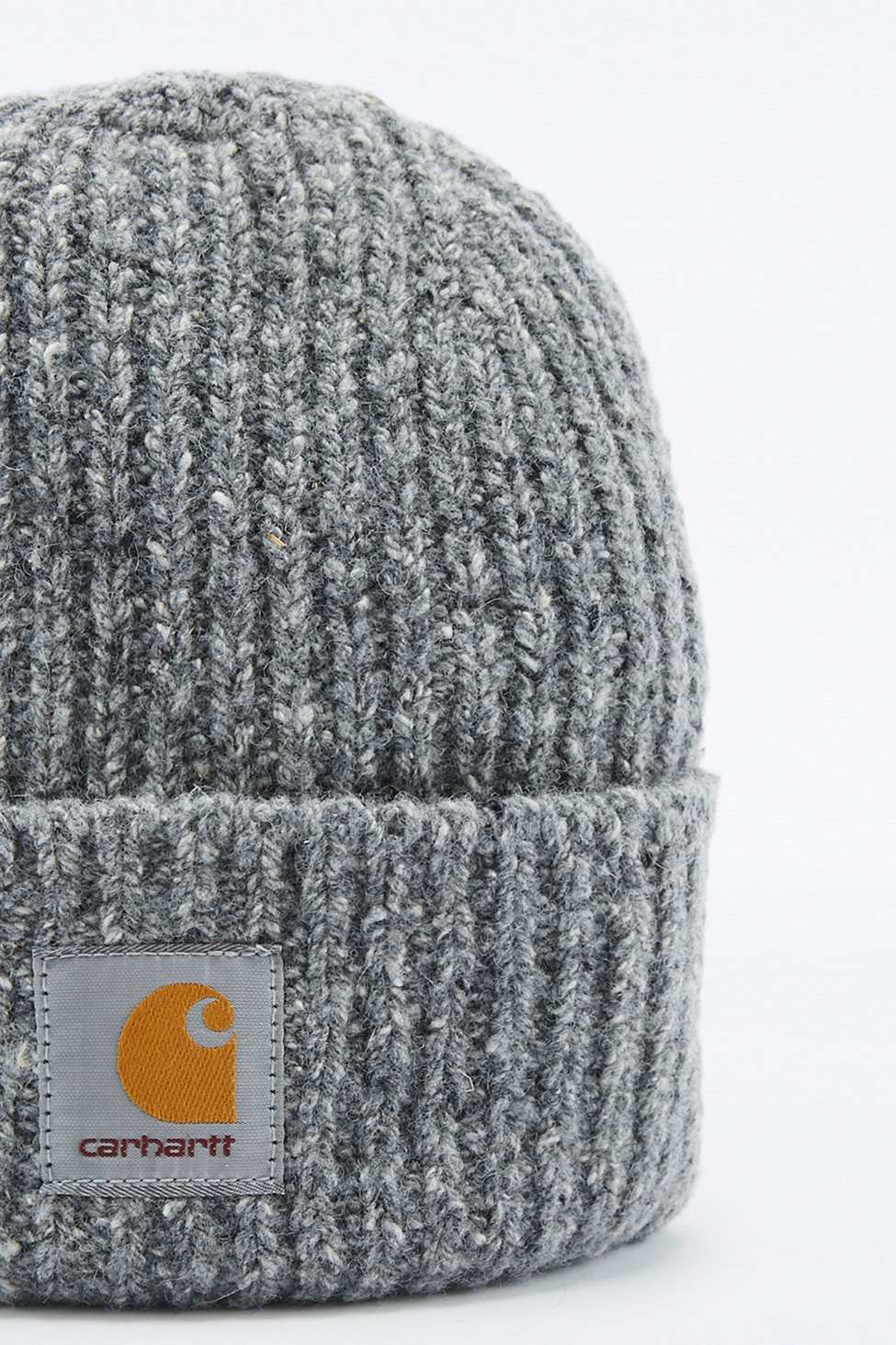 dd40baa0 Carhartt Anglistic Charcoal Beanie in Gray for Men - Lyst