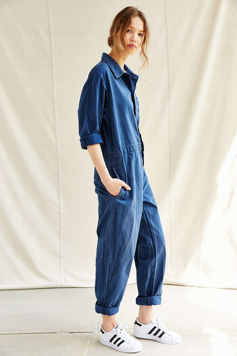 6d7cc0db836 Gallery. Previously sold at  Urban Outfitters · Women s Denim Dungarees  Women s Denim Overalls ...