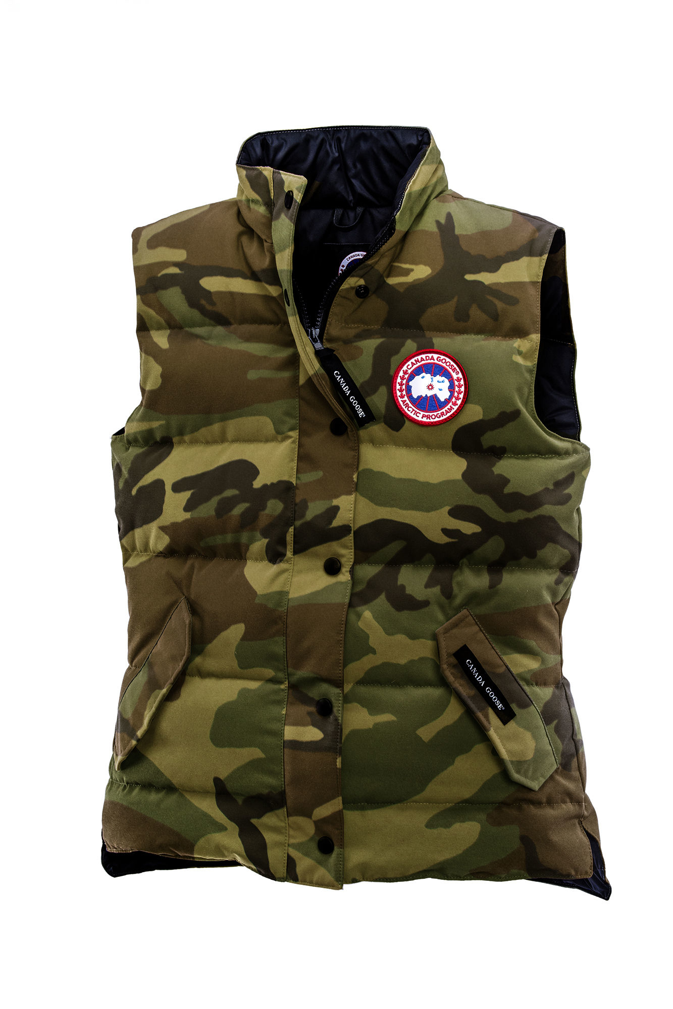 Canada Goose' Freestyle Down Vest - Men's Classic Camo, M