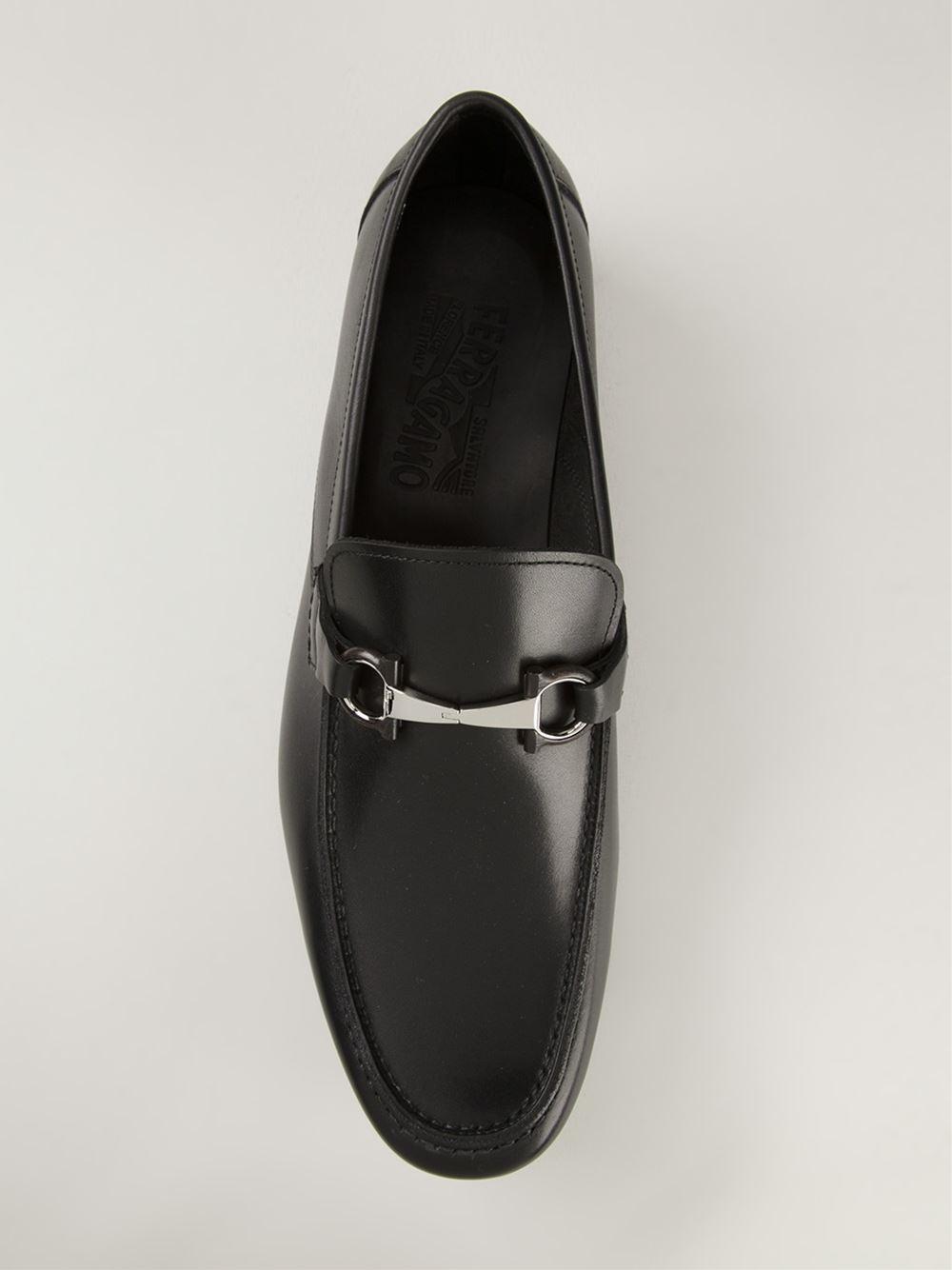 c0d63d9305556 Ferragamo 'Nepal' Loafers in Black for Men - Lyst
